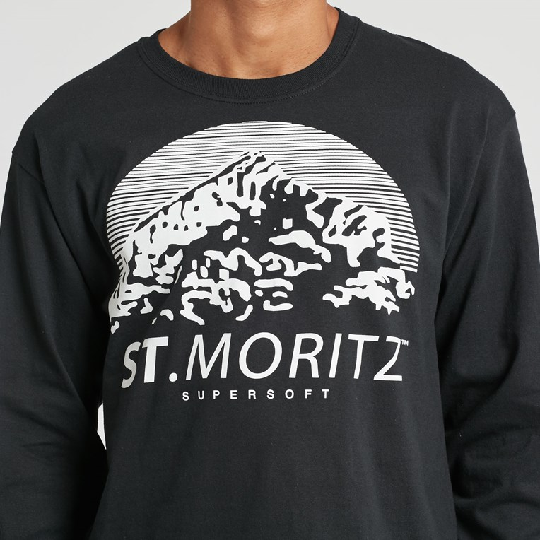 St Moritz Supersoft Classic Long Sleeve Tee - 4