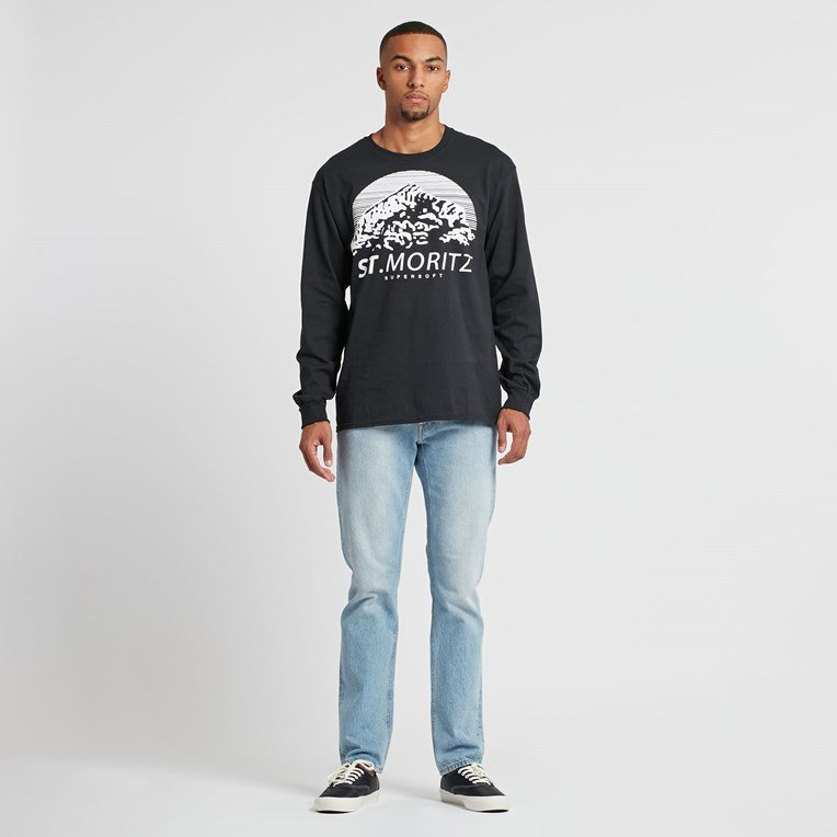 St Moritz Supersoft Classic Long Sleeve Tee - 5