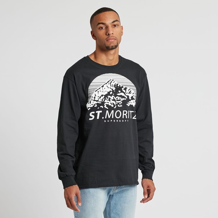 St Moritz Supersoft Classic Long Sleeve Tee - 2