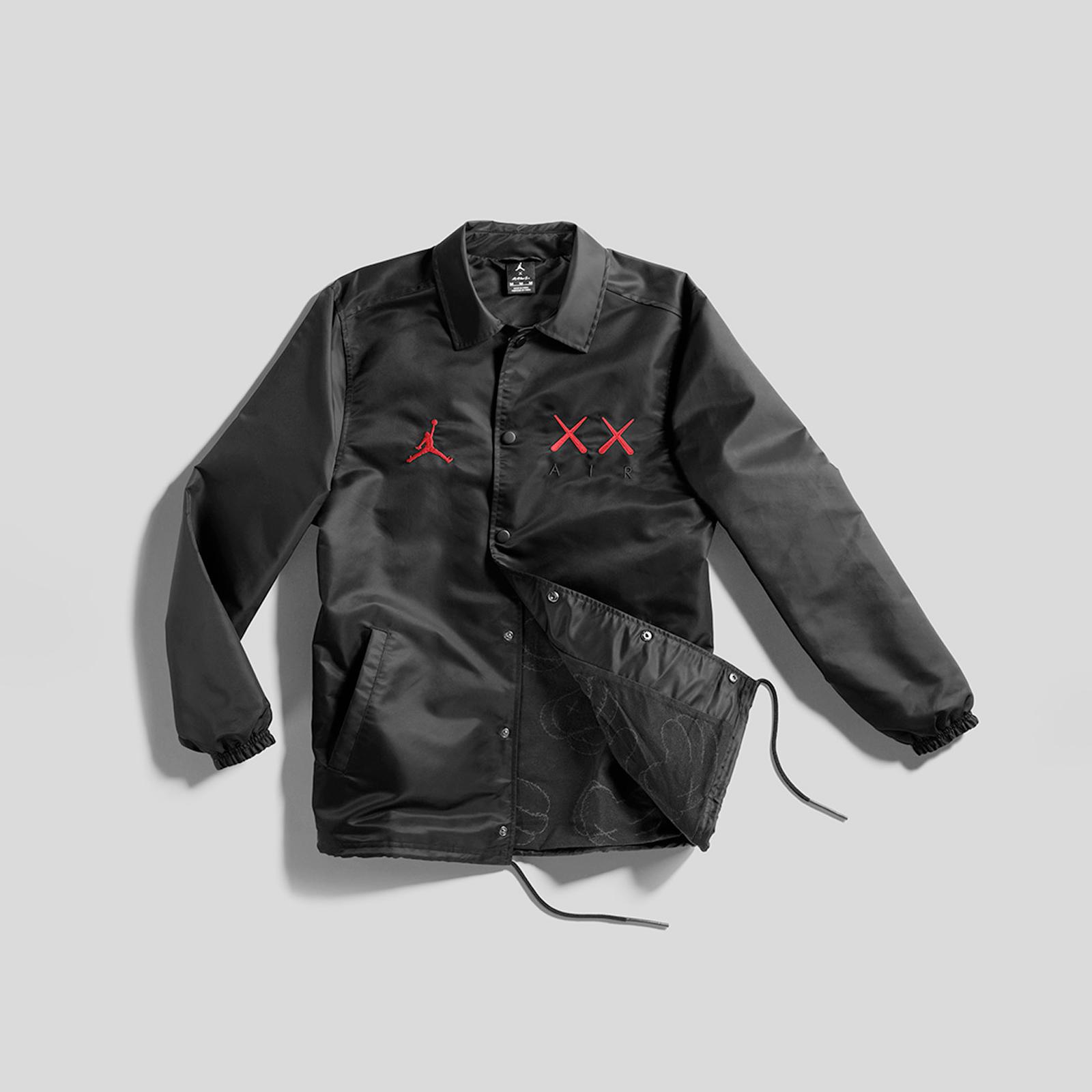75d21797258f Jordan Brand KAWS Coaches Jacket - 884483-010 - Sneakersnstuff ...