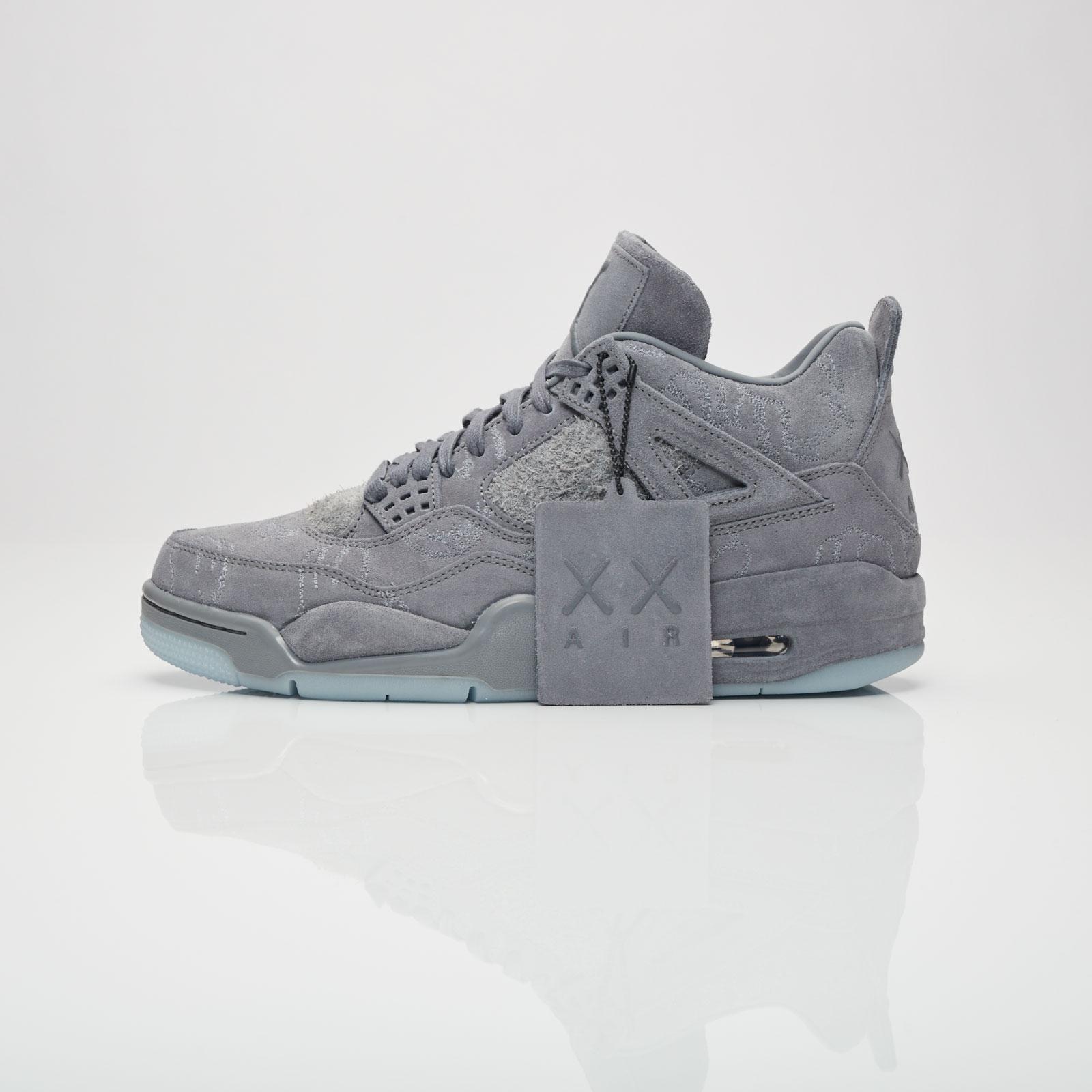 kaws jordan 4 sneakersnstuff