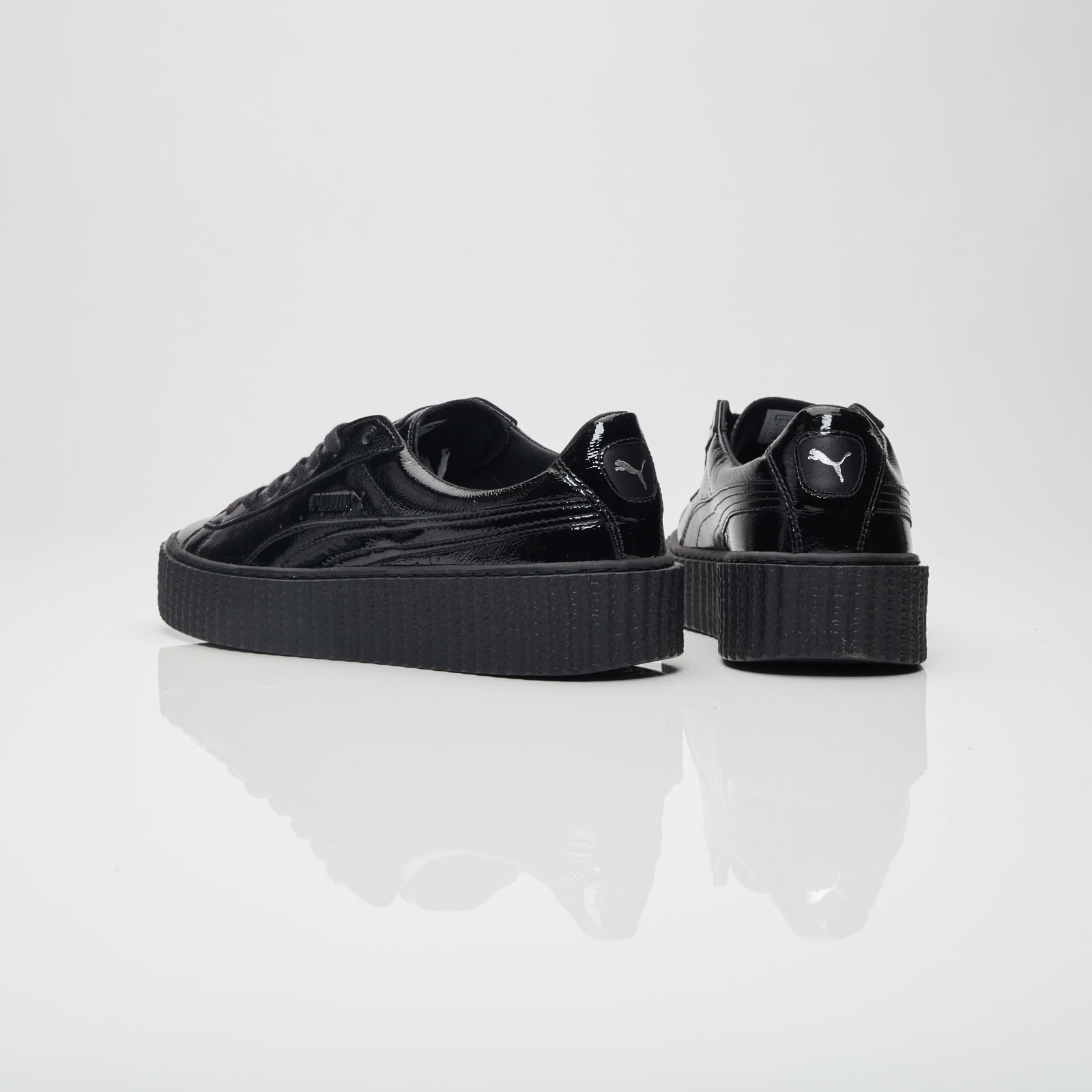 45ad33367ed Puma Creeper Cracked Leather - 364465-01 - Sneakersnstuff
