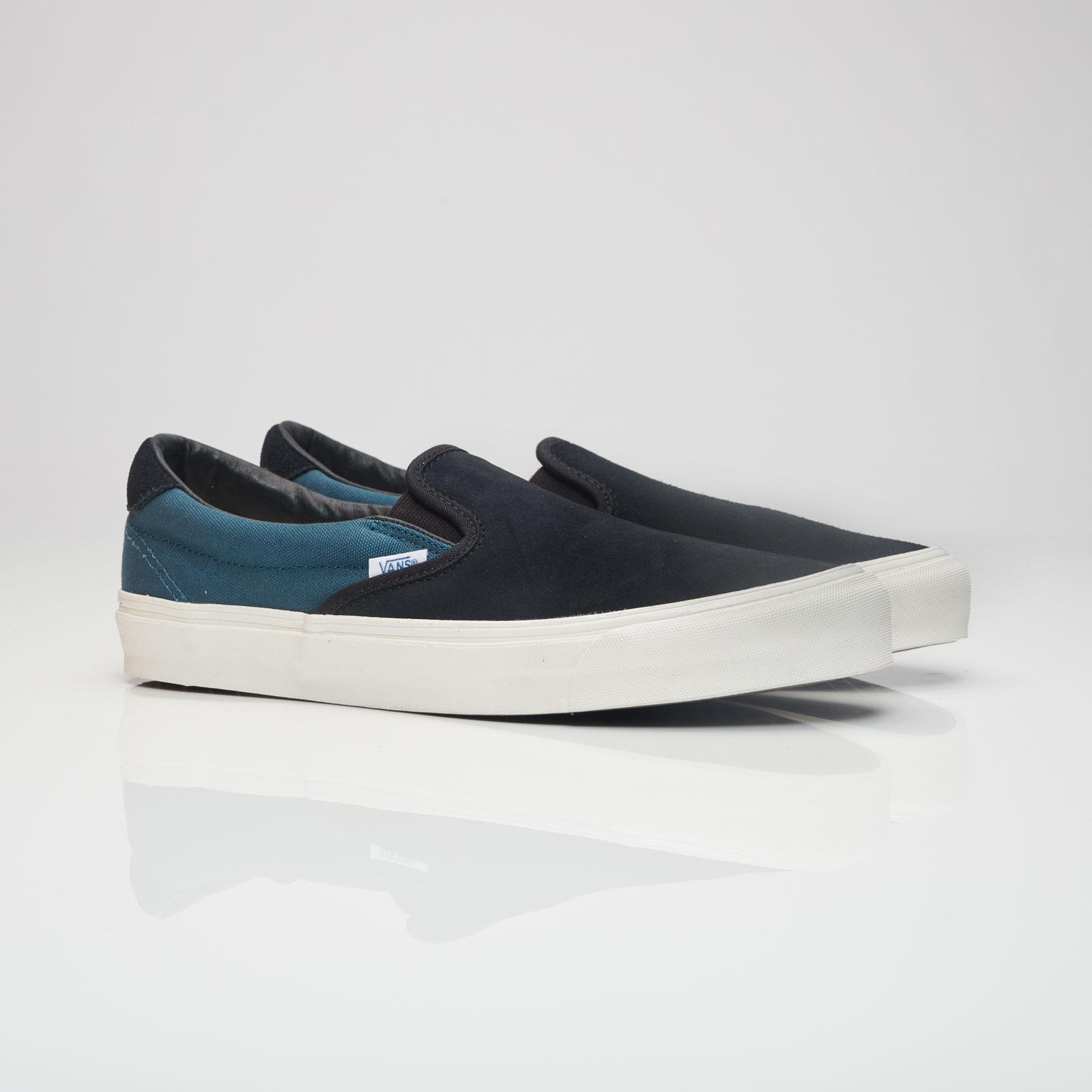 Reebok Classics Blue Suede OG 59 LX Slip-On Sneakers Qaeab87u