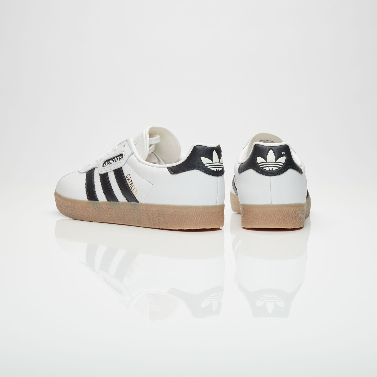 Adidas Gazelle Super Core Black Vintage White Gum Shoes