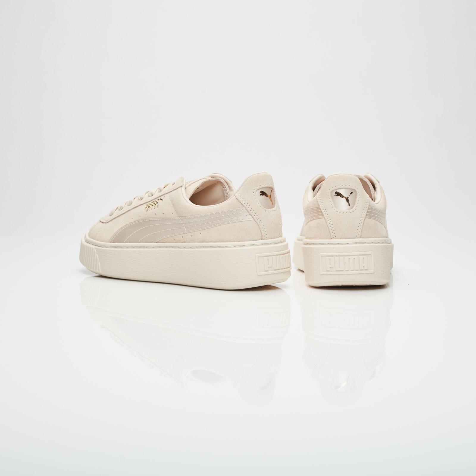 new style bb178 18ebc Puma Suede Platform Satin Wns - 365828-02 - Sneakersnstuff ...