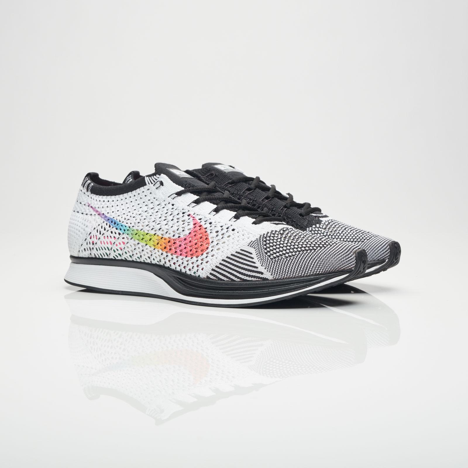 2a2d9707b8c4 Nike Flyknit Racer BETRUE - 902366-100 - Sneakersnstuff