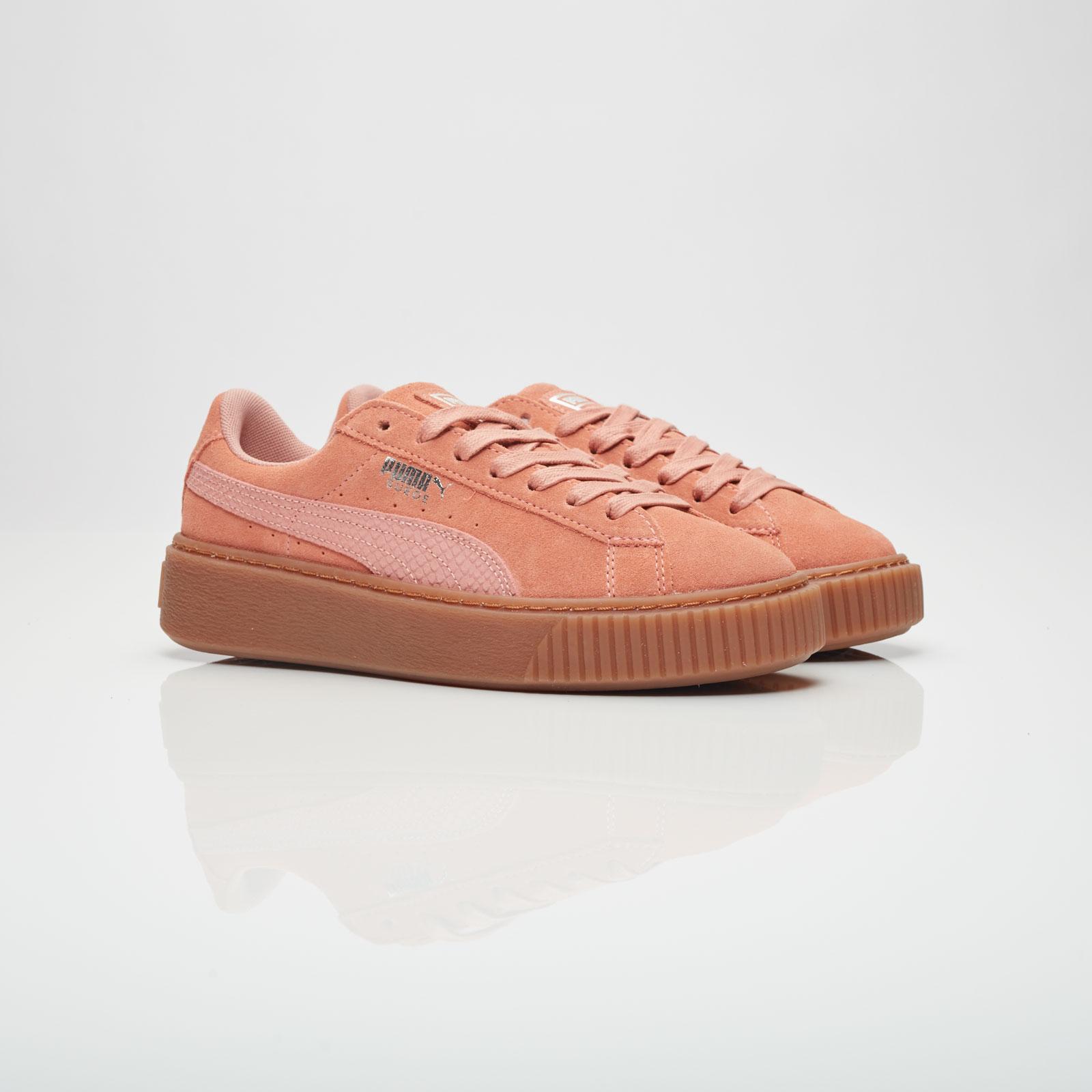 Puma Suede Platform Animal - 365109-02 - Sneakersnstuff ...