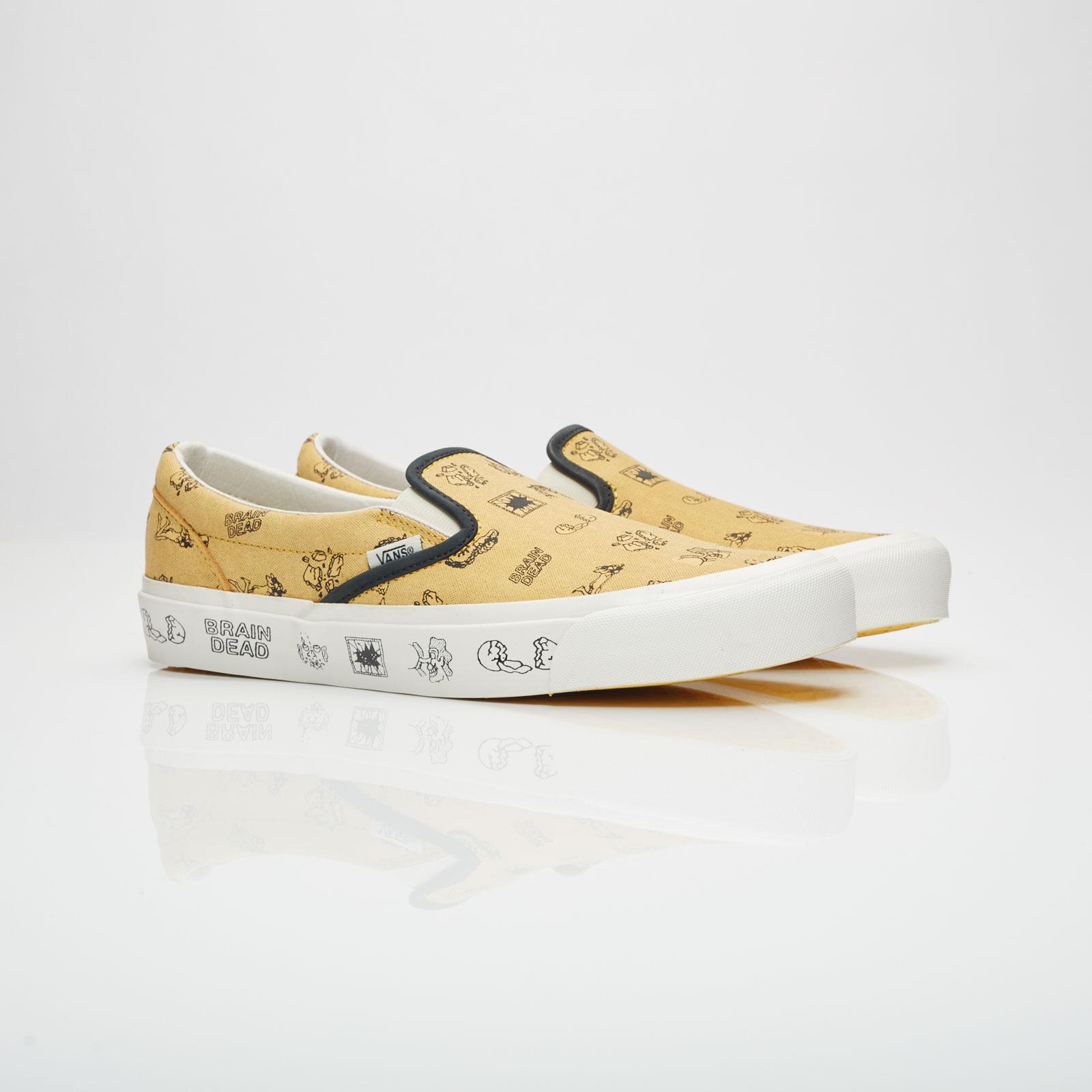 470fbc3a10 Vans UA Classic Slip-On LX x Brain Dead - Va38fjn8b - Sneakersnstuff ...