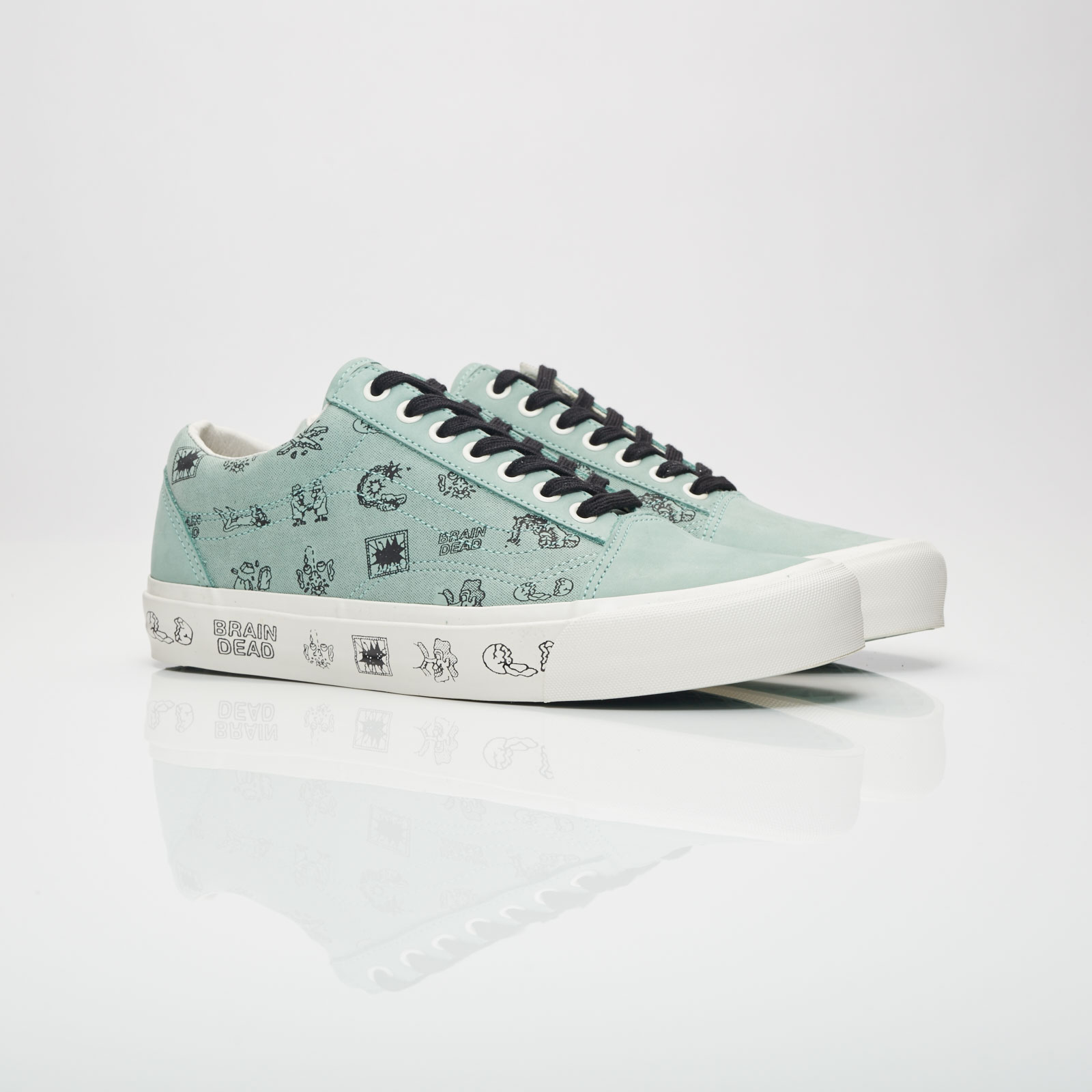 f4e44d3b6aa Vans UA Old Skool LX x Brain Dead - Va38g6n9e - Sneakersnstuff ...