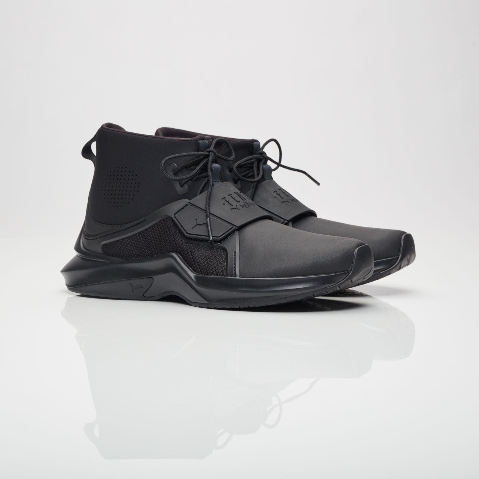 b1dc07e5021 Puma Fenty Hi Leather Wns - 190398-01 - Sneakersnstuff