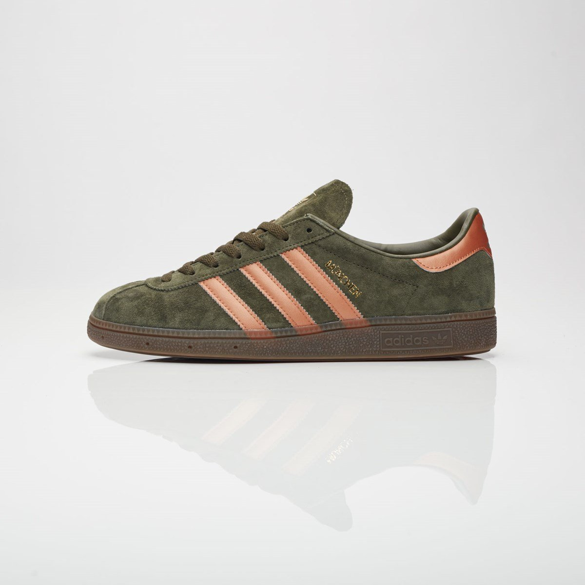 adidas München shoes green copper