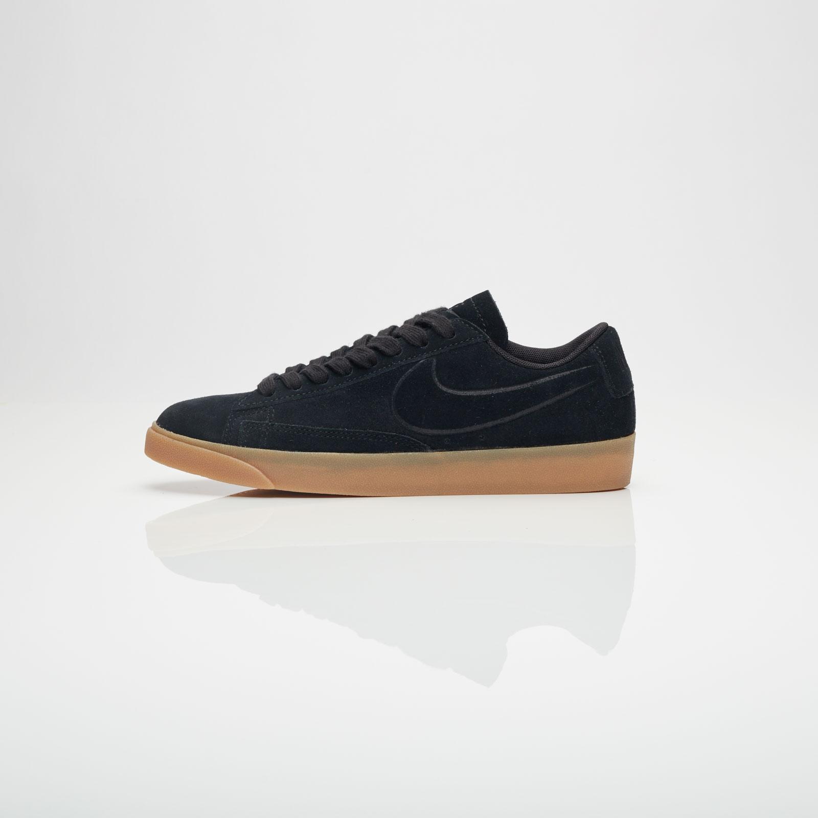 Nike BLAZER LOW SD W Noir 7bE0S