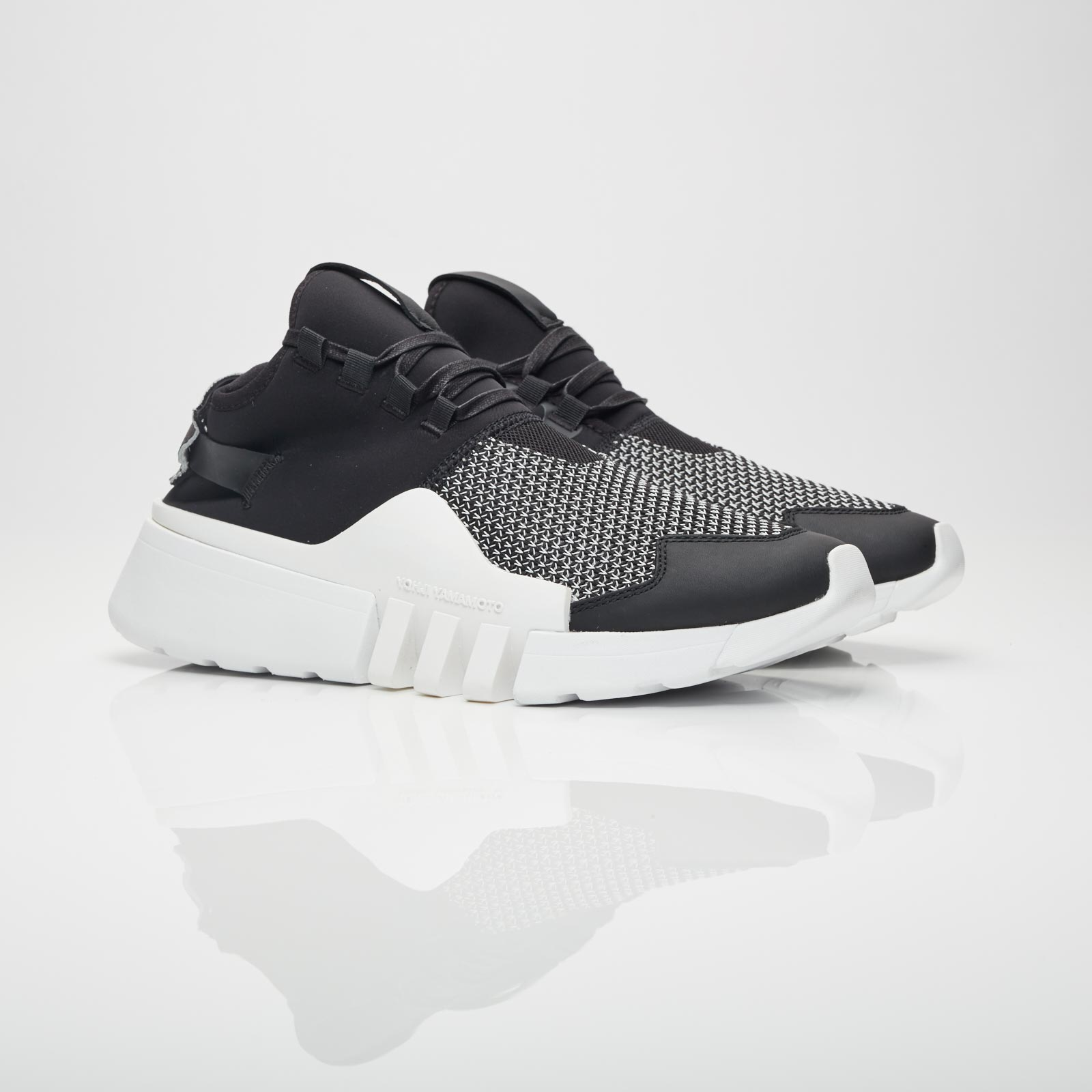 Adidas Y-3 City Sock Primeknit Black White Men's Shoes