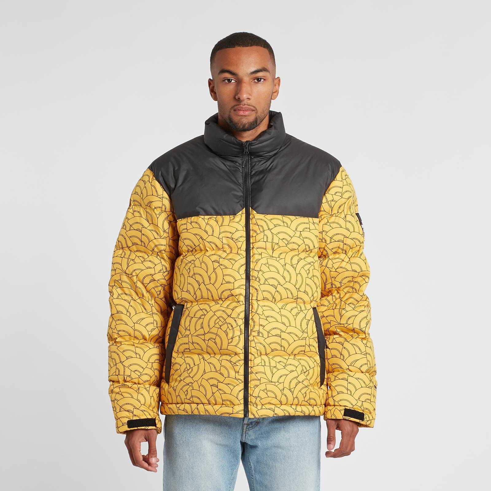 7af335508 good mens north face vest nuptse yellow 69b5c 523f3