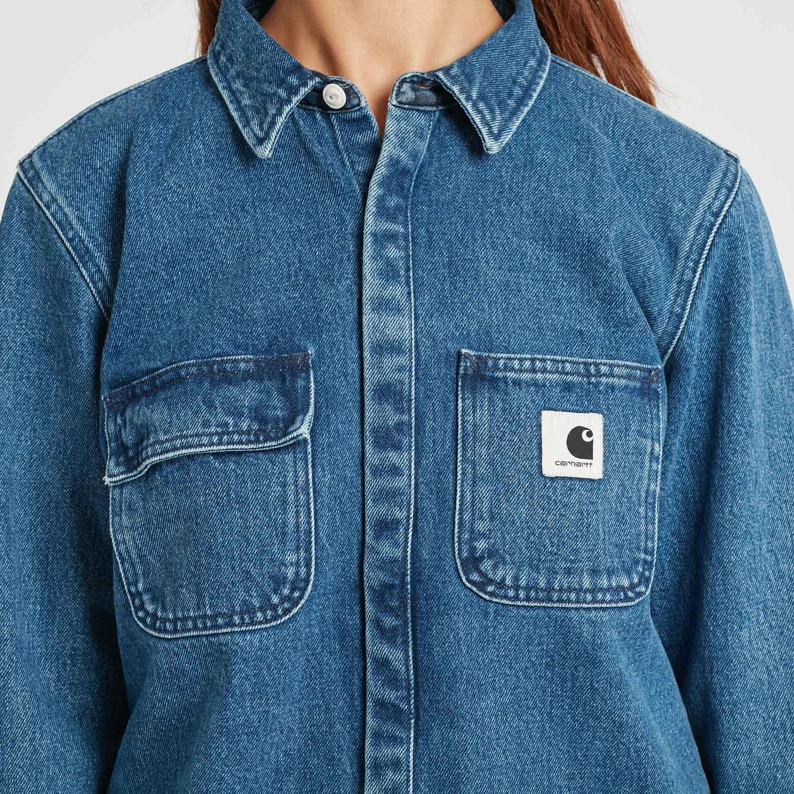 446407da7a Carhartt WIP W L S Salinac Shirt - I022159.01.06.03 - Sneakersnstuff ...