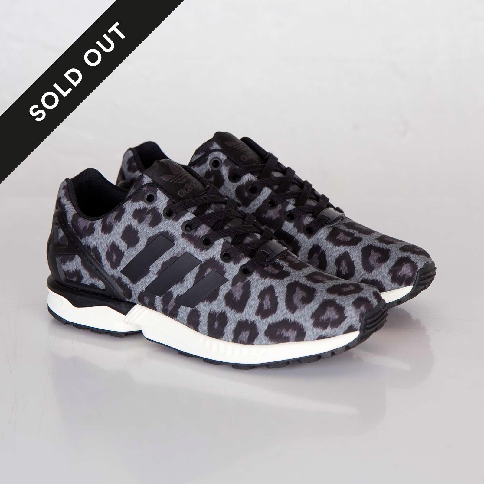 bas prix 3e176 8fbf2 adidas ZX Flux - Snow Leopard - M21667 - Sneakersnstuff ...