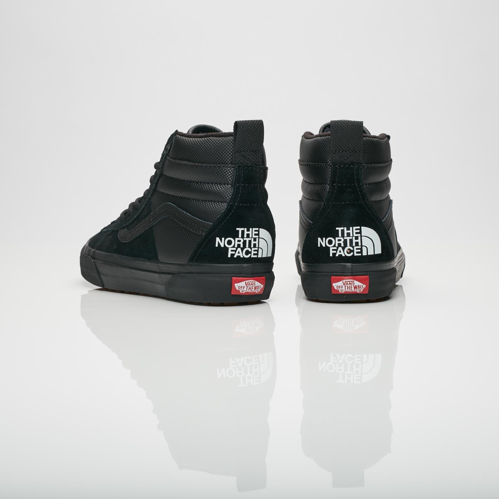 vans x tnf schoenen