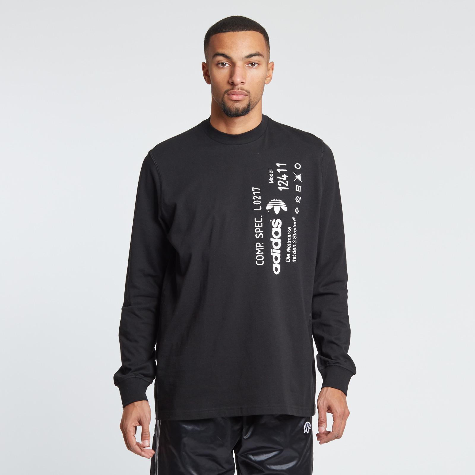 adidas originals long sleeve t shirt