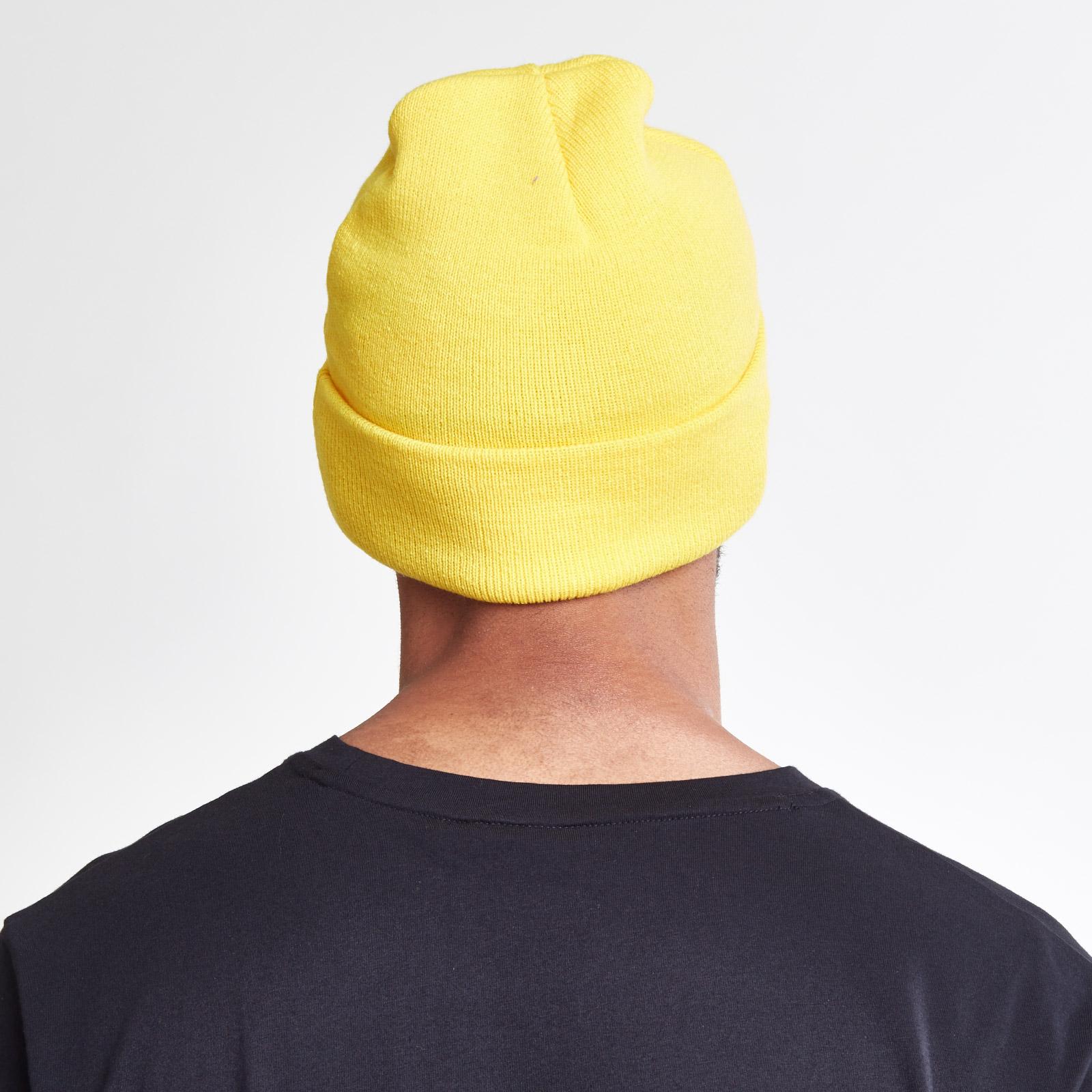 puma xo yellow beanie