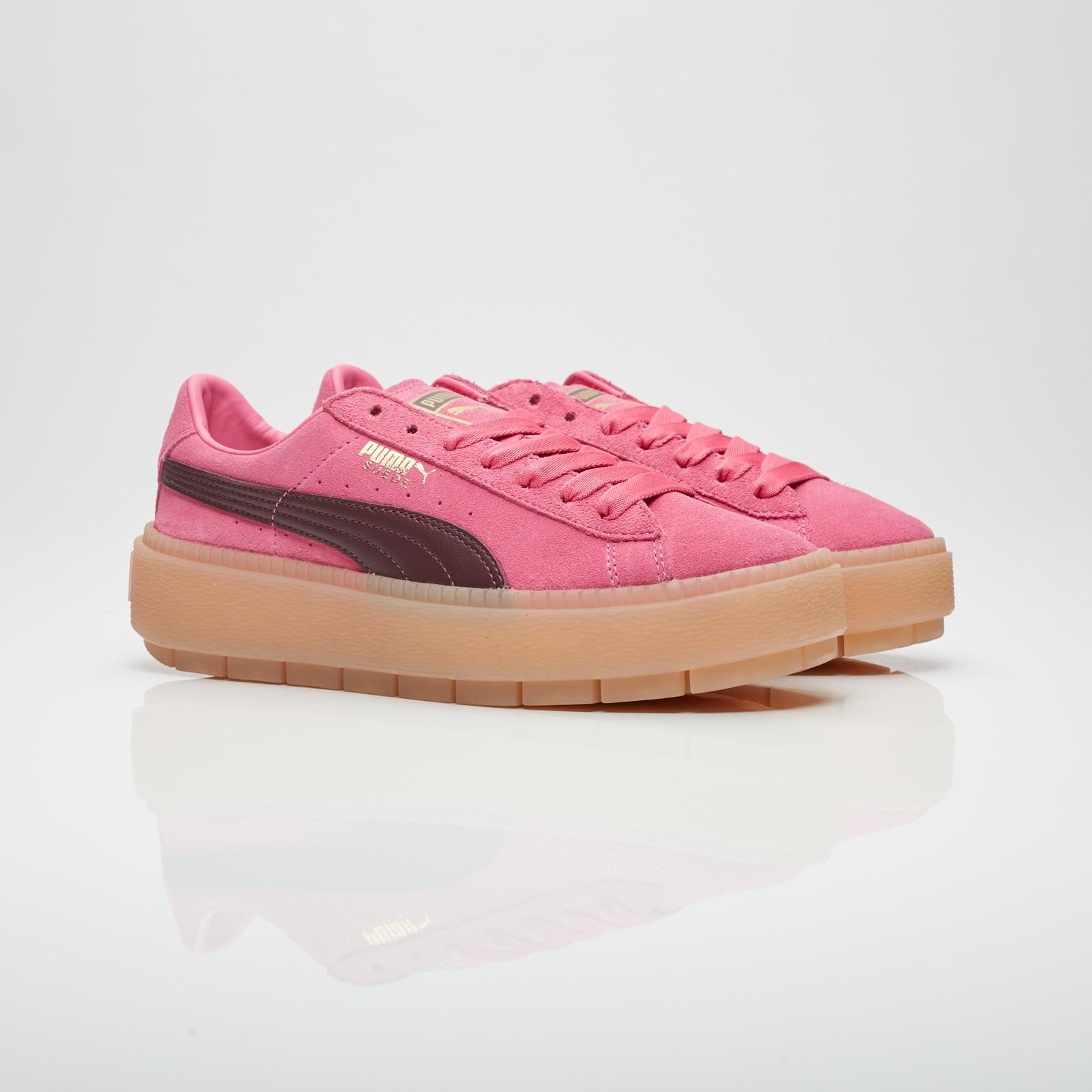 puma basket platform trace sneakers