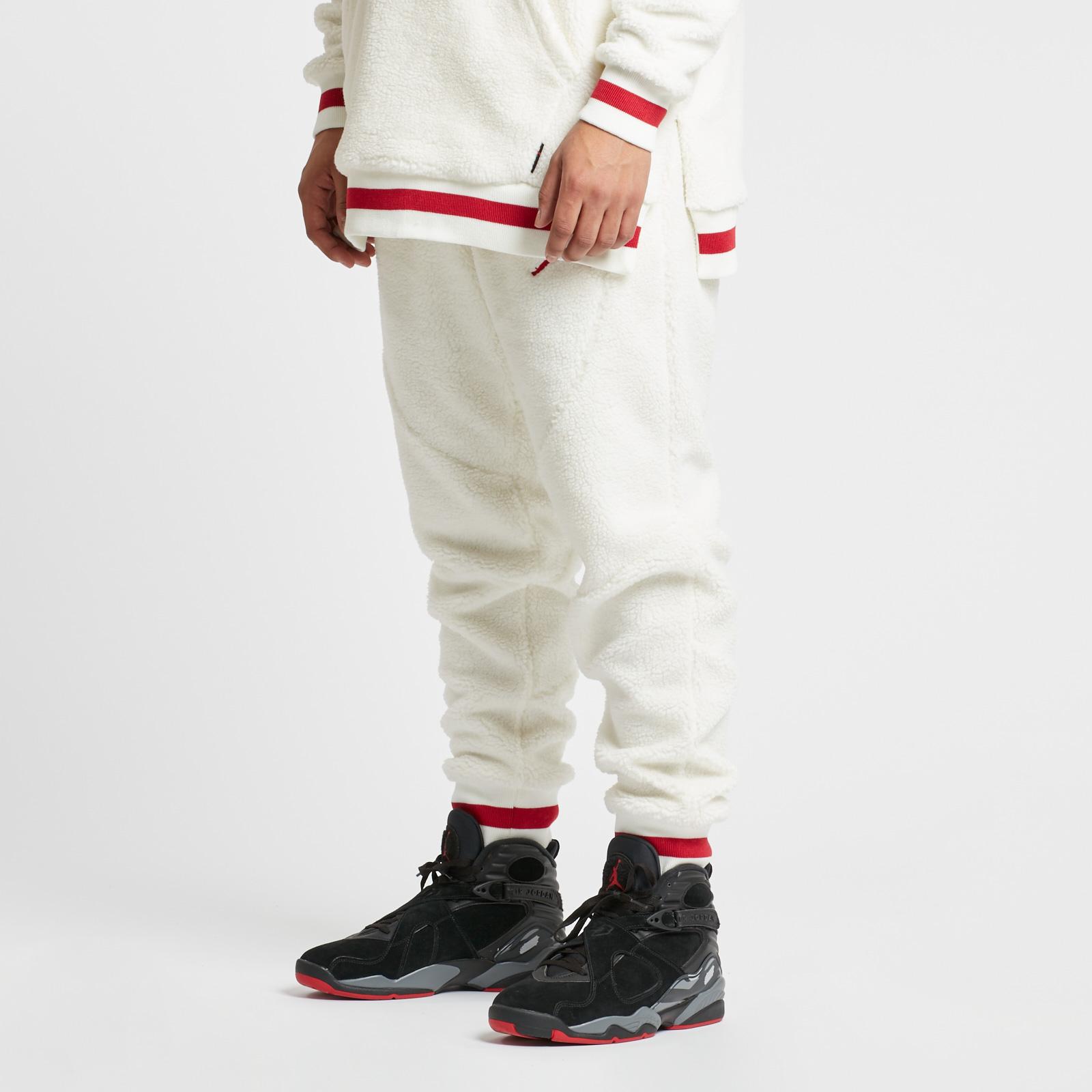 cd3b710f93fd5a Jordan Brand Shearling AJ1 Fleece Pant - Ah7911-133 - Sneakersnstuff |  sneakers & streetwear online since 1999