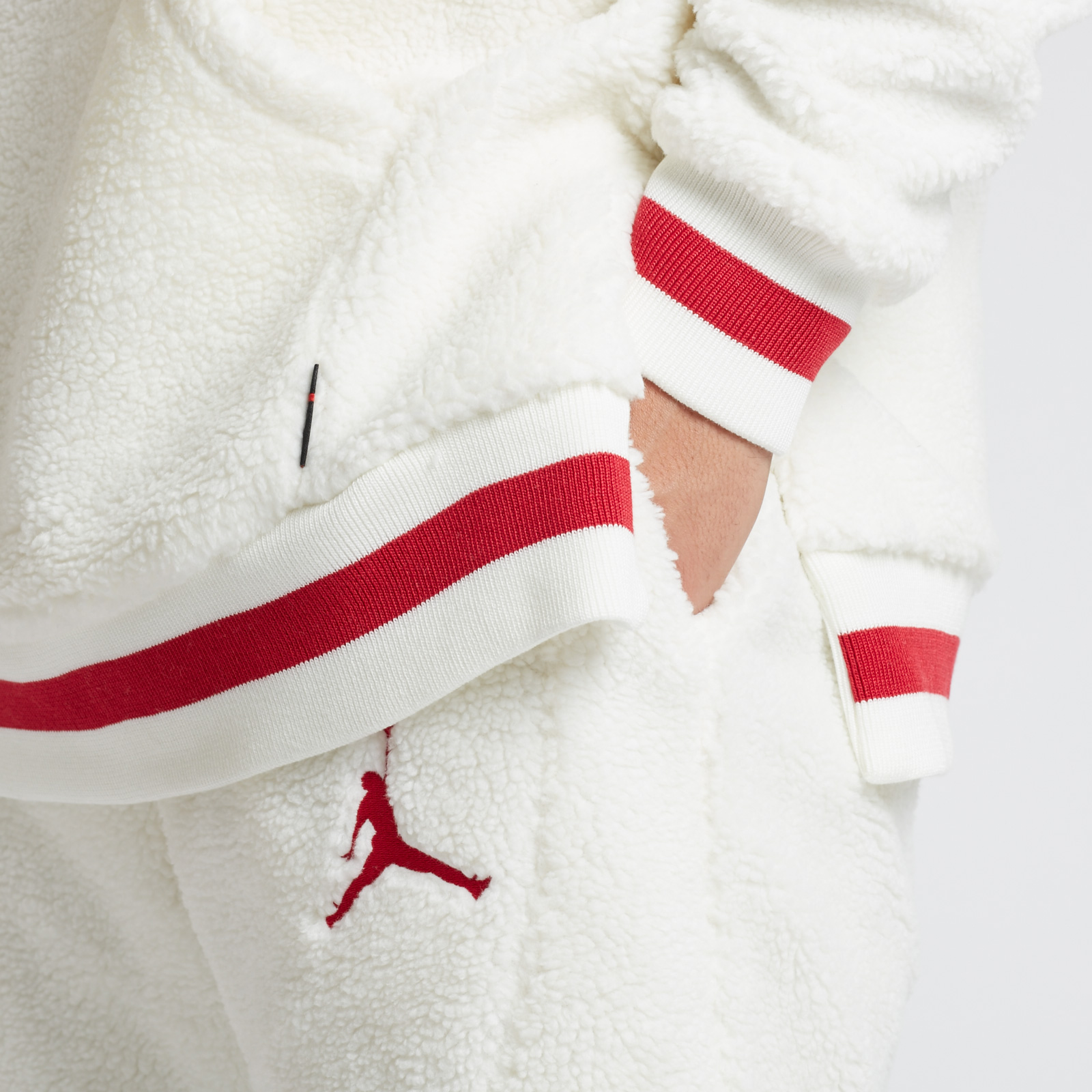1df582469ff52c Jordan Brand Shearling AJ1 Fleece Pant - Ah7911-133 - Sneakersnstuff ...