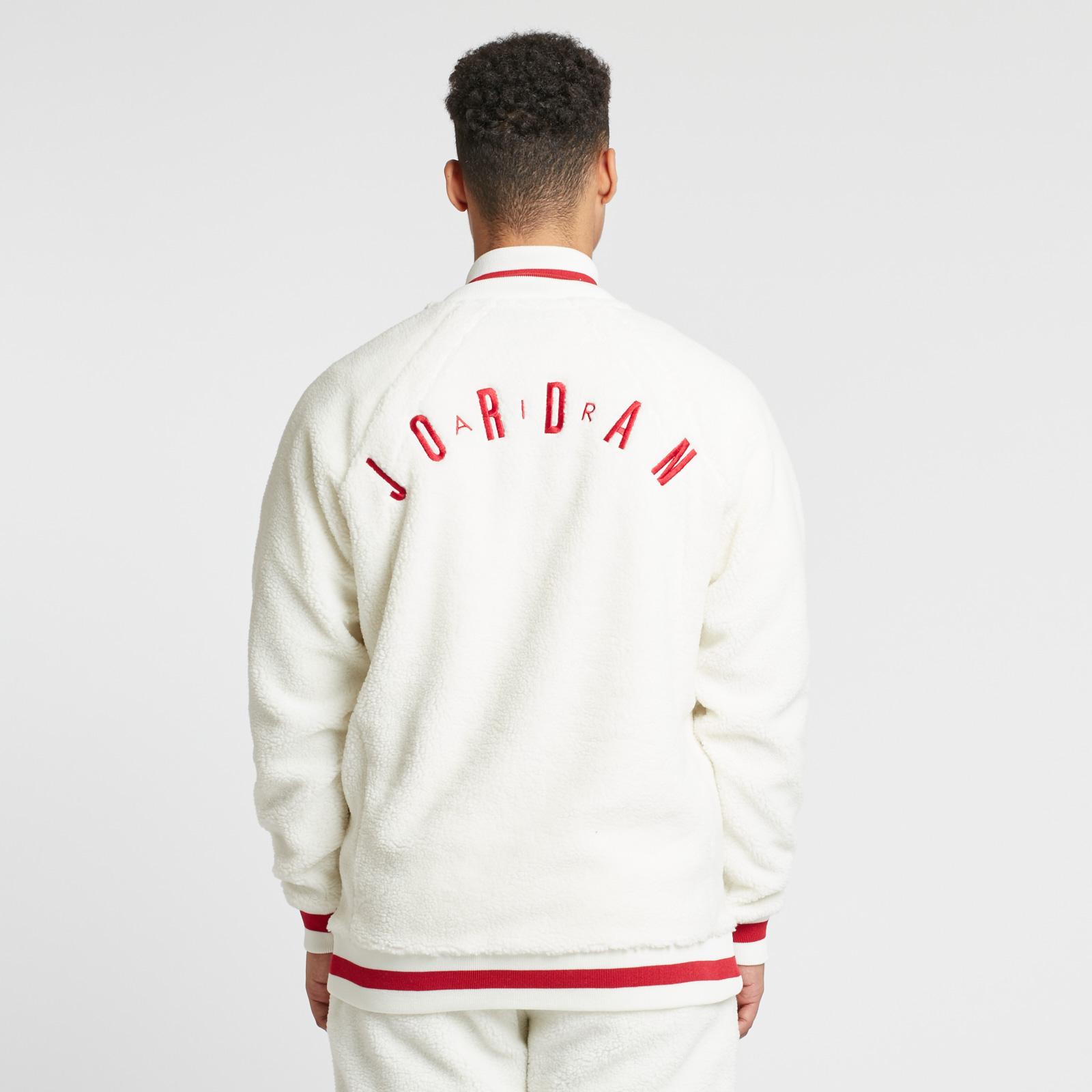 eafdd4f3676373 Jordan Brand Shearling AJ1 Fleece Jacket - Ah9748-133 - Sneakersnstuff |  sneakers & streetwear online since 1999