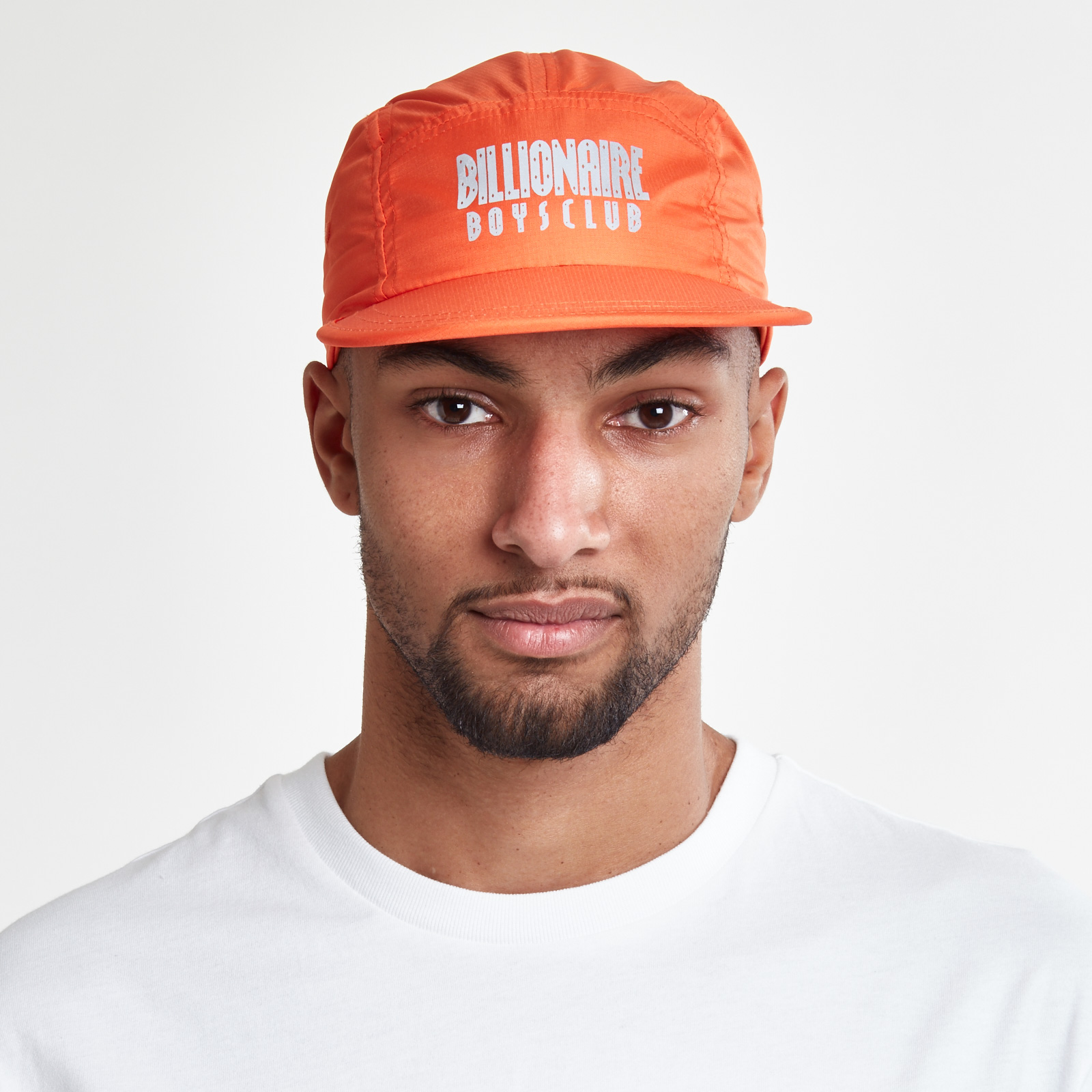 Billionaire Boys Club 5 Panel Straight Logo Print Cap - B17363 ... 87c7c4ed3e35