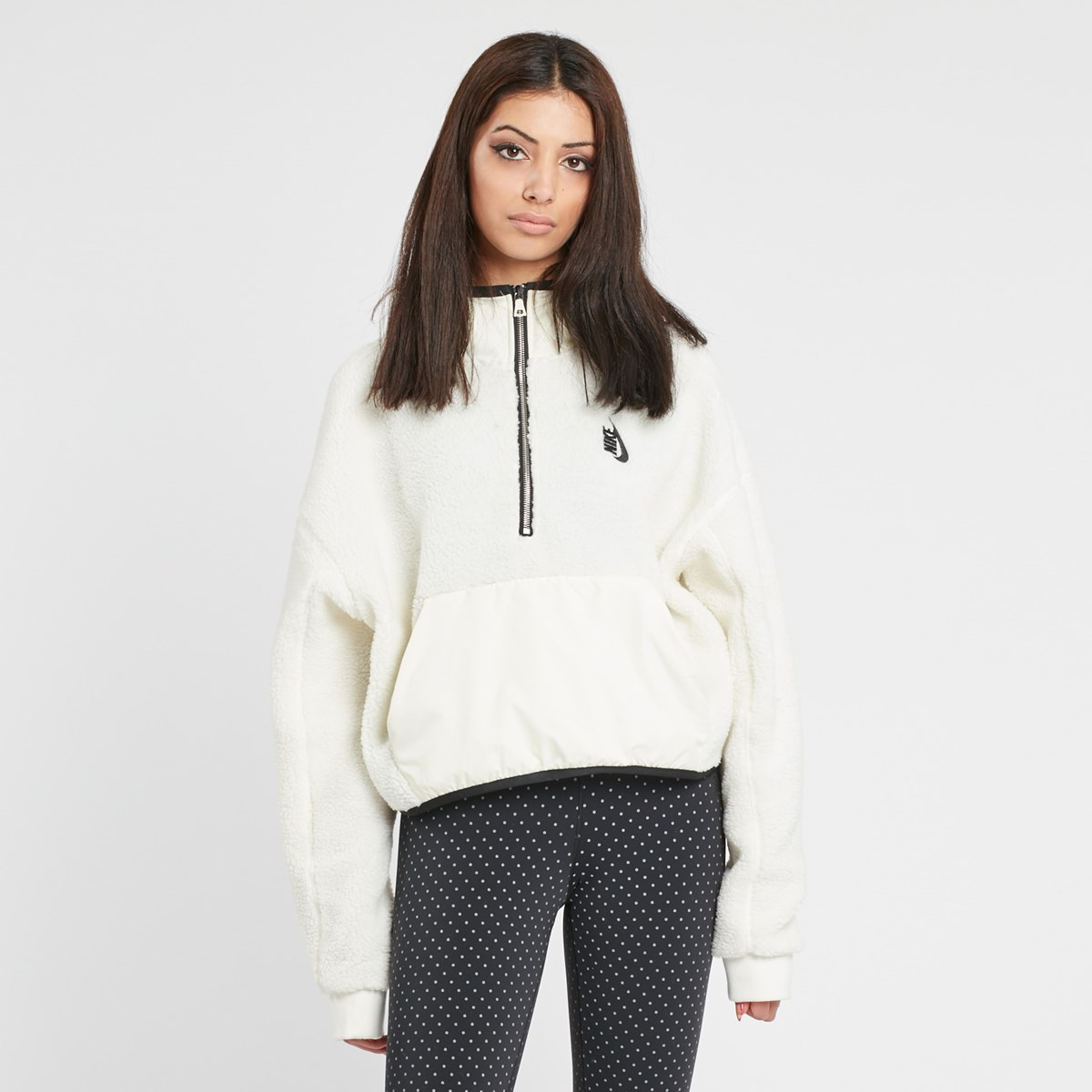 Lab Shoptagr Half Hoodie Essential Nike Zip By Sherpa 577aq