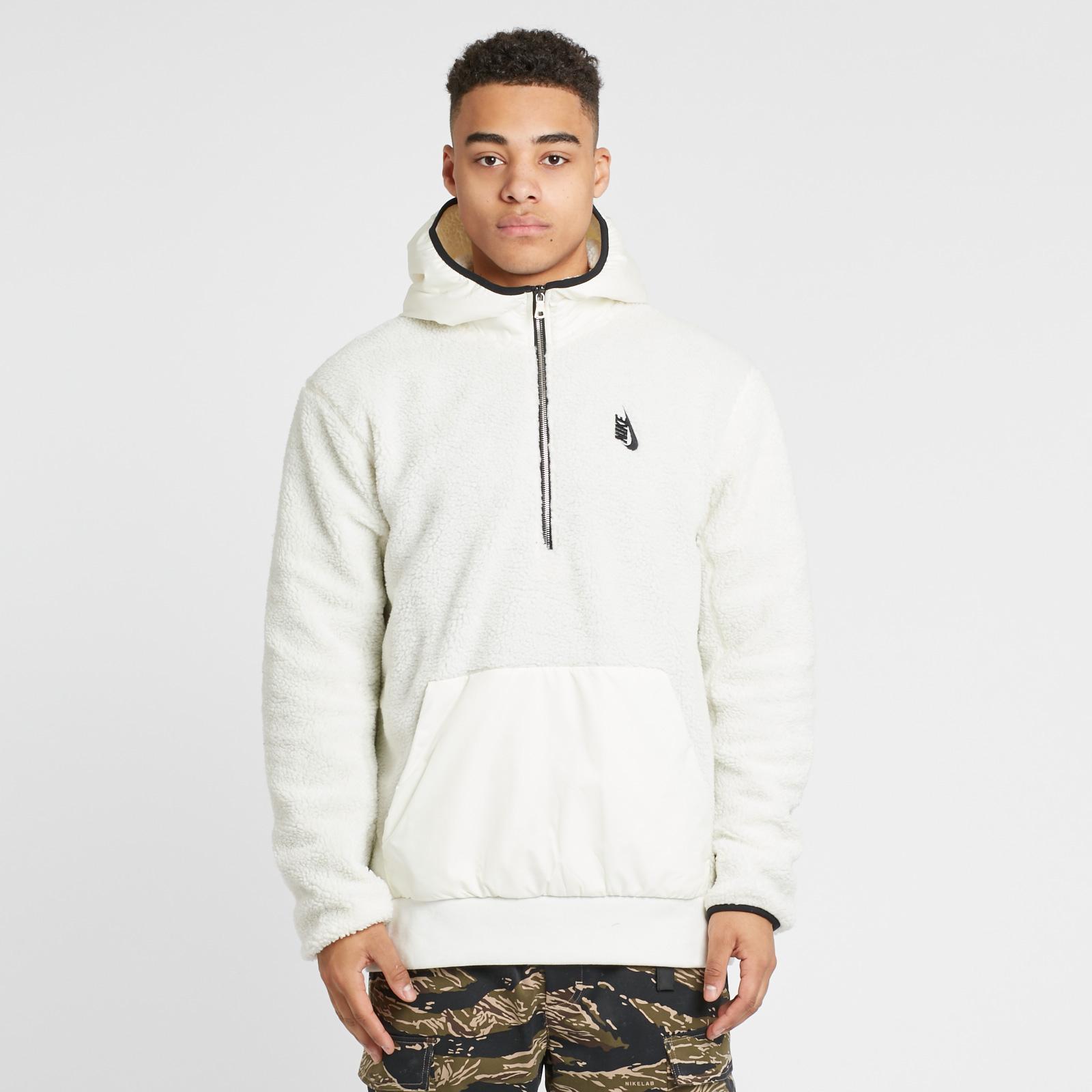 converse sherpa hoodie