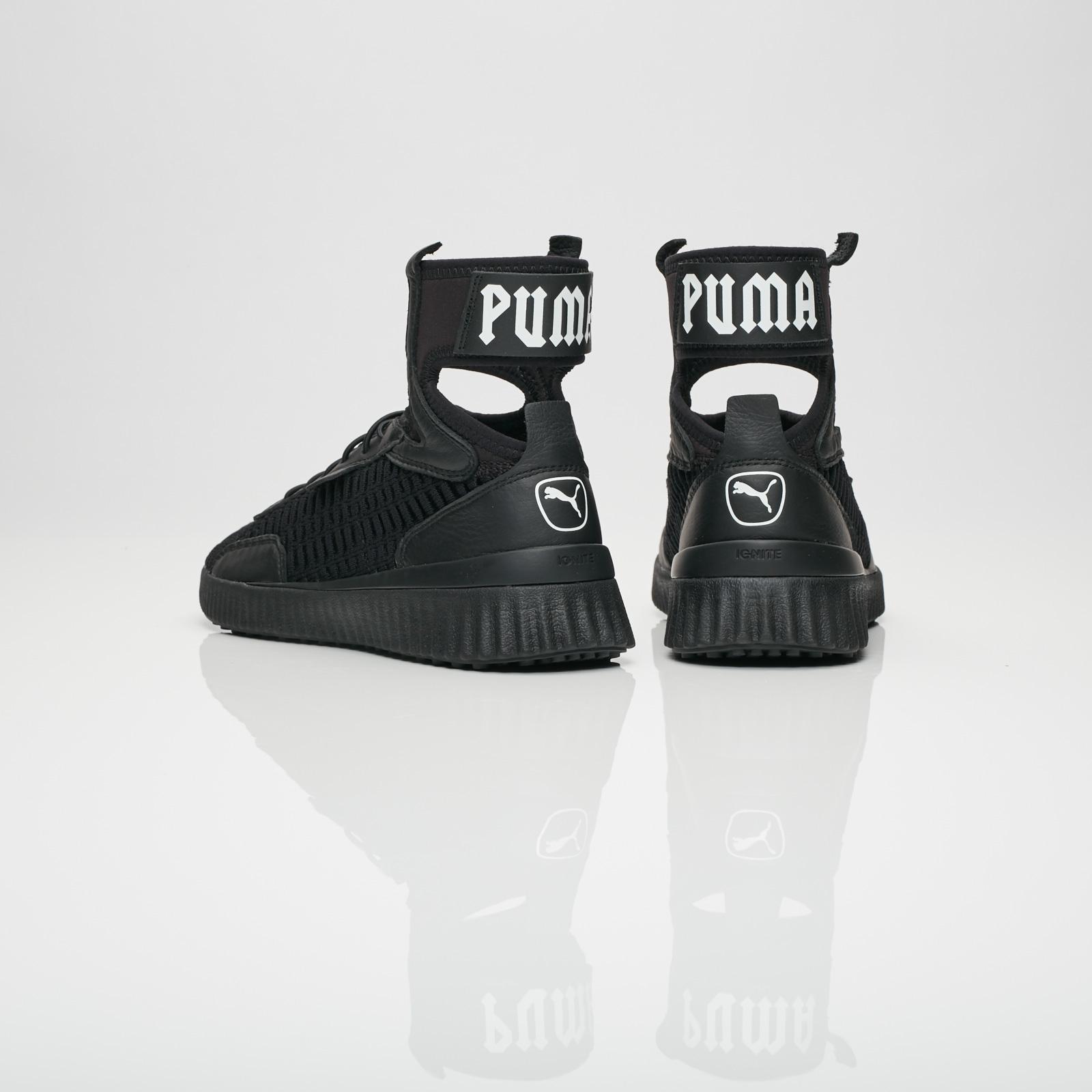 quality design 9035b 62fe5 Puma Fenty Trainer Mid - 190938-01 - Sneakersnstuff ...