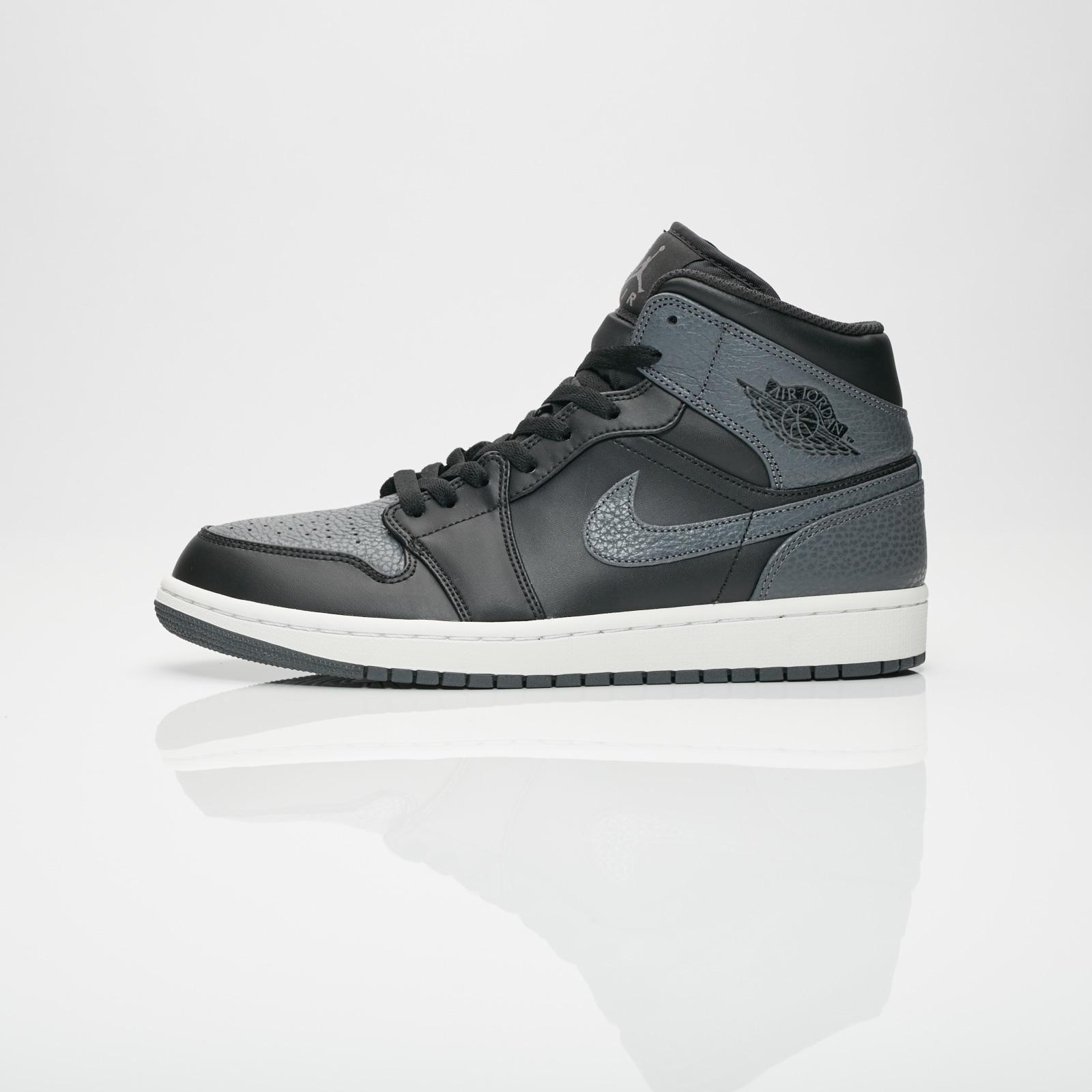 cfbd812abee5e6 Jordan Brand Air Jordan 1 Mid - 554724-041 - Sneakersnstuff ...