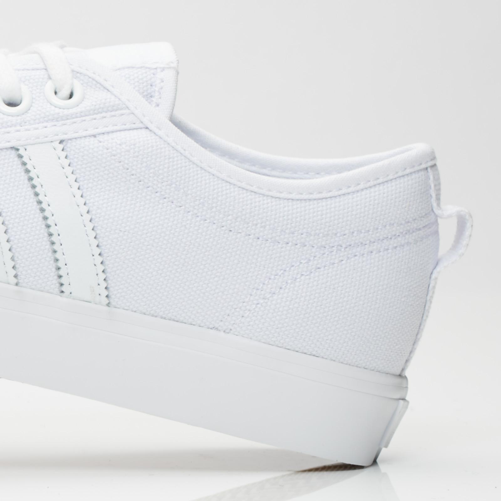 Adidas Nizza Low Shoes Unisex White Originals BZ0496