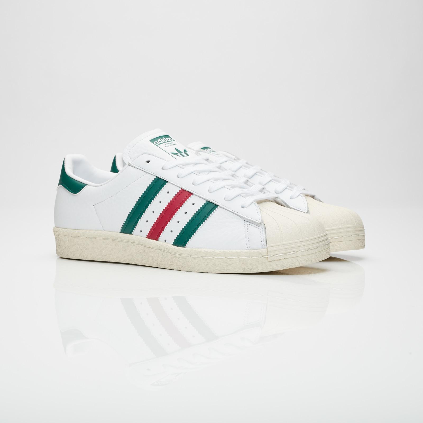 adidas superstar green back
