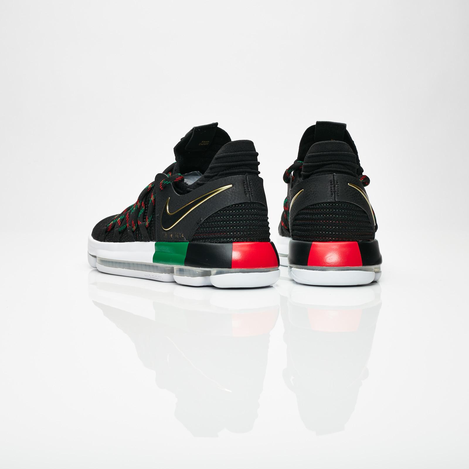 d7fcedde755a2 Nike Zoom KD10 BHM - 897817-003 - Sneakersnstuff