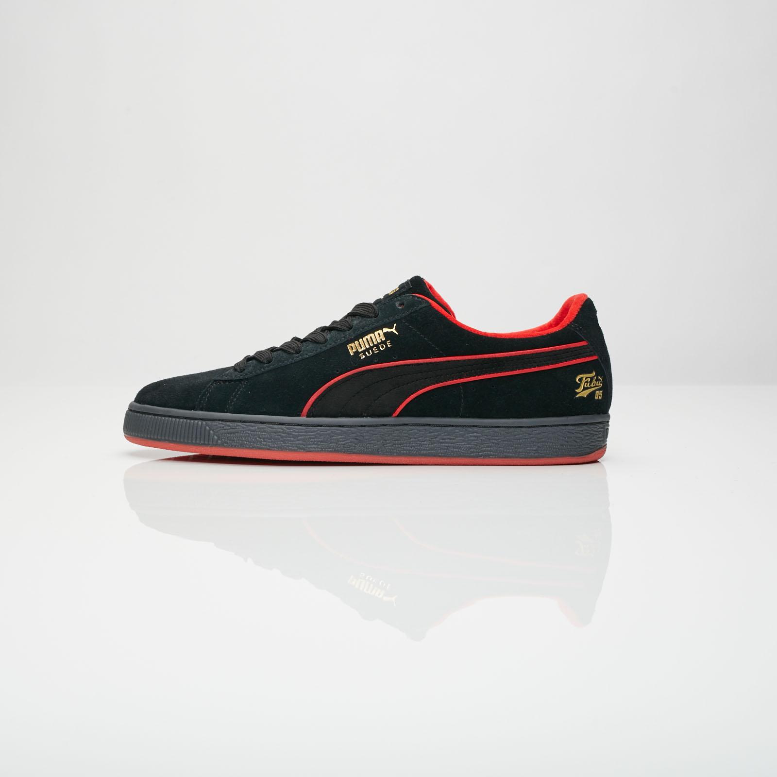 ef3ceee1cb4fd2 Puma Suede Classic X FUBU - 366320-02 - Sneakersnstuff