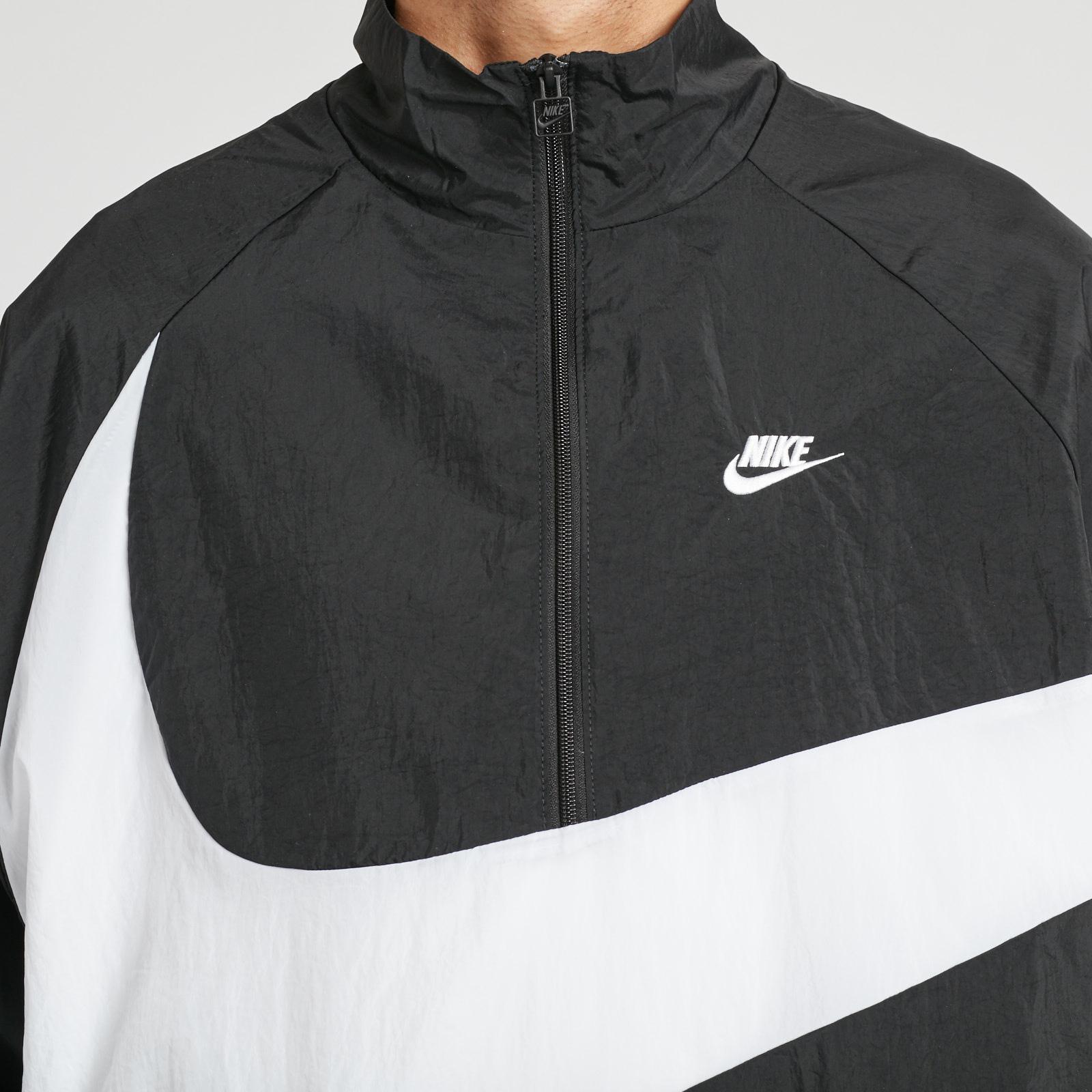 e2917b22d3ef Nike NSW VW Swoosh Woven Halfzip Jacket - Aj2696-010 ...