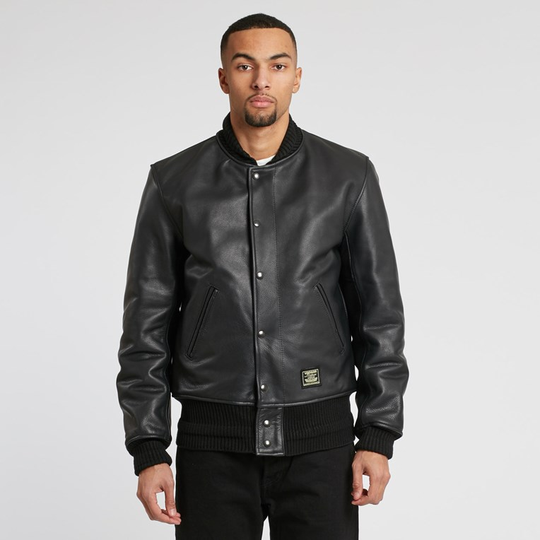 Vanson Leathers Letterman Jacket