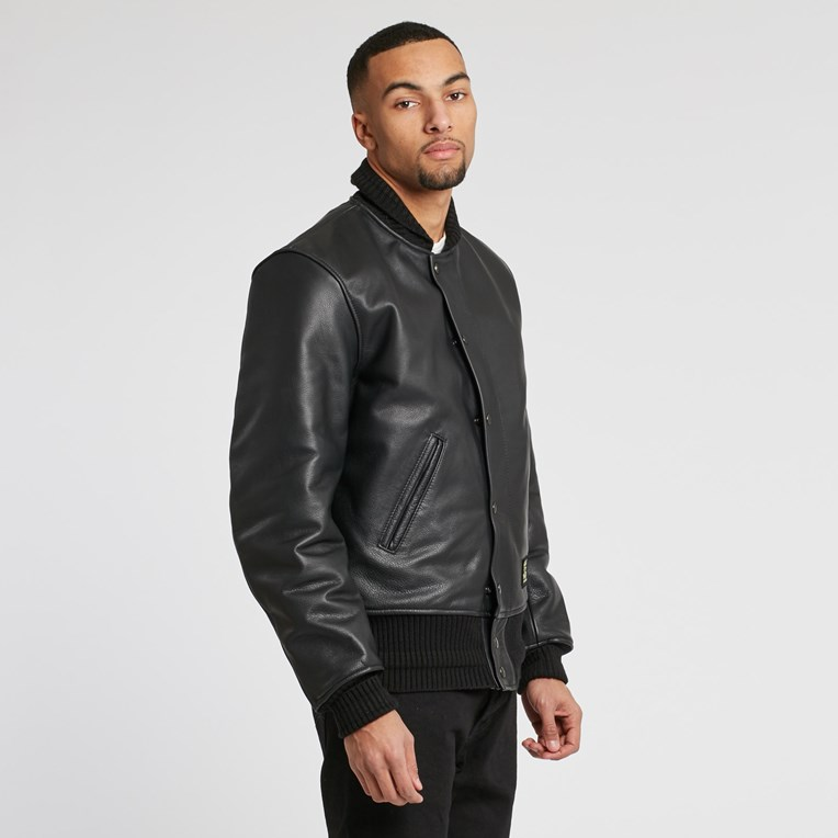 Vanson Leathers Letterman Jacket - 2