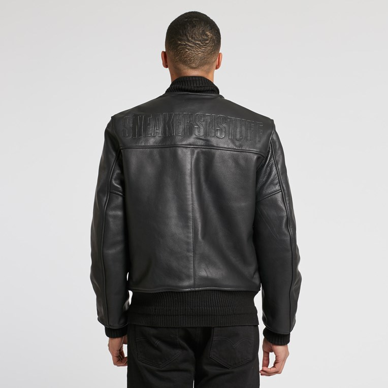 Vanson Leathers Letterman Jacket - 3