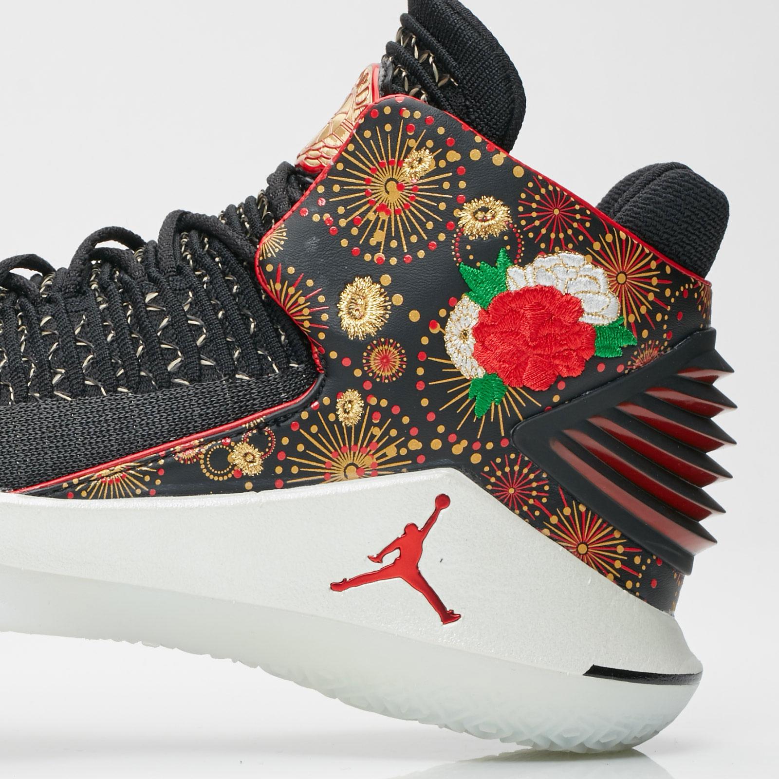 37f38f0ab79a72 Jordan Brand Air Jordan XXXII CNY - Aj6331-042 - Sneakersnstuff ...