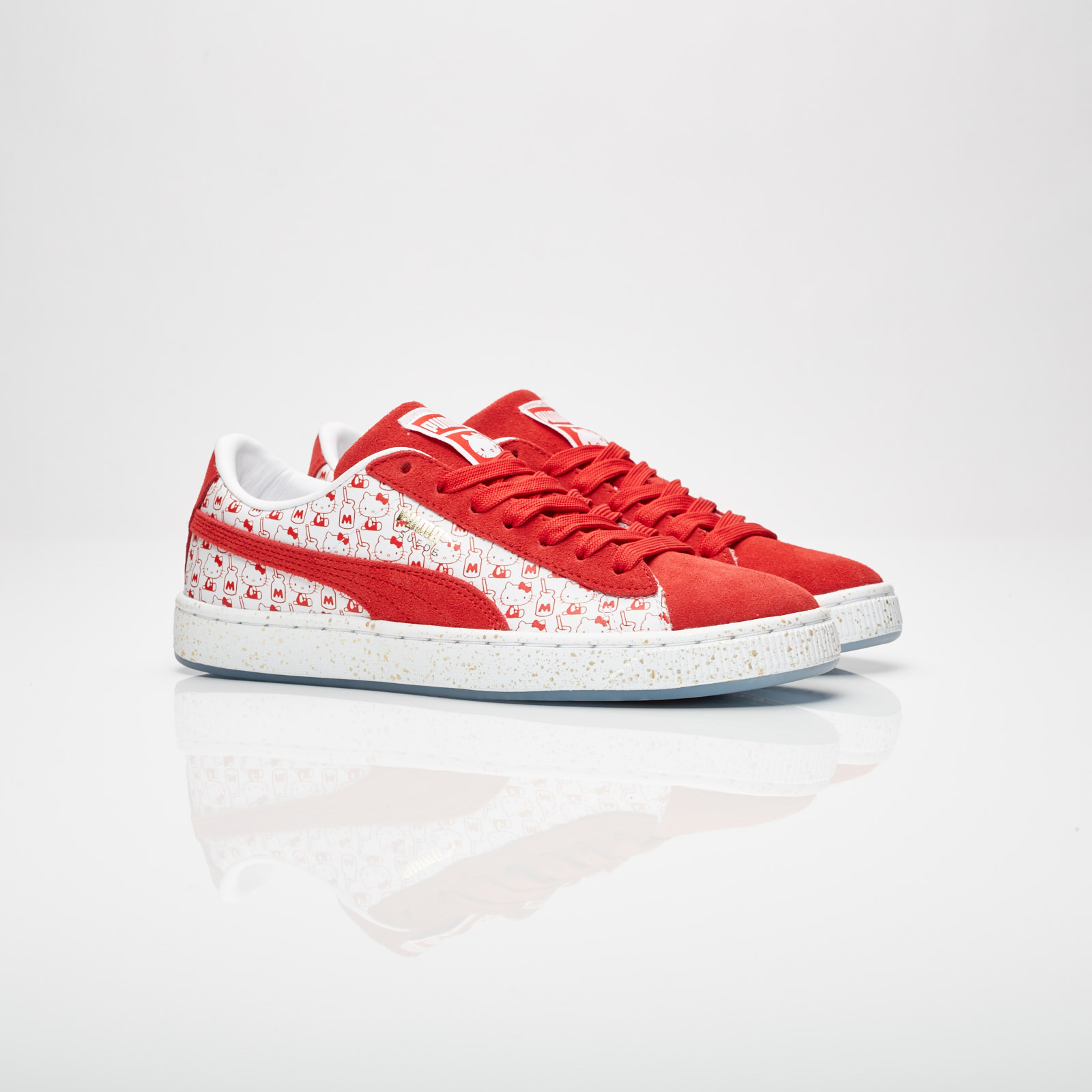 outlet store 99ab9 6a2dd Puma Suede Classic X Hello Kitty Jr - 366463-01 ...