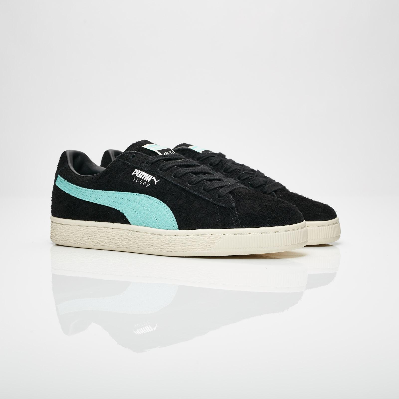 Puma Suede Diamond | Black | Sneakers | 365650 01 | Caliroots