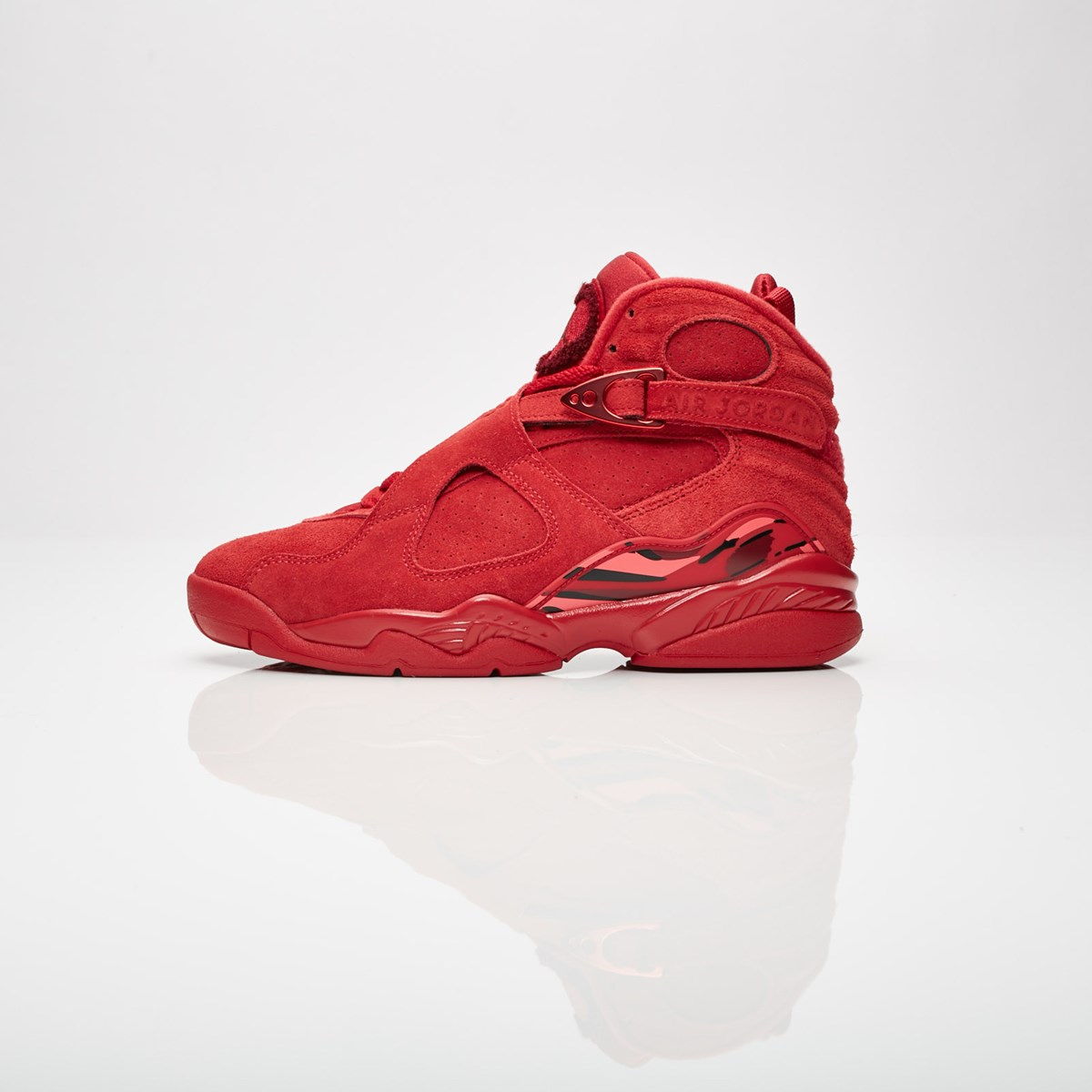 For Whole Family 037b3 823a4 Jordan 8 Valentines Day Red Womens