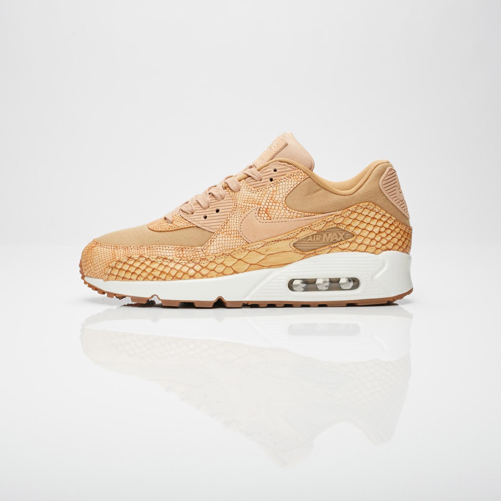 buy popular a218f 738c0 Nike Air Max 90 Premium Ltr - Ah8046-200 - Sneakersnstuff I Sneakers ...