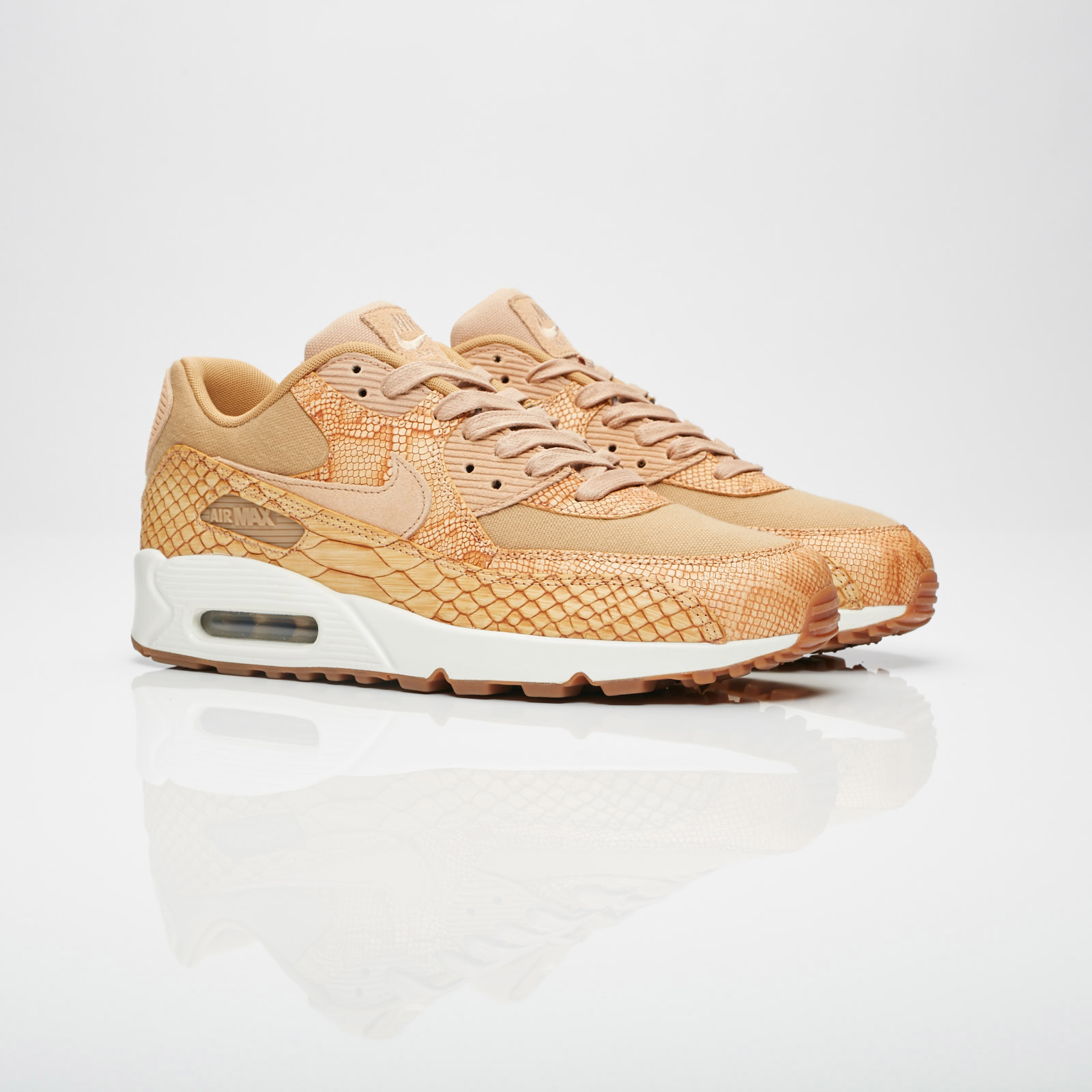 the best attitude 5fa12 d50bb Nike Air Max 90 Premium Ltr - Ah8046-200 - Sneakersnstuff I ...