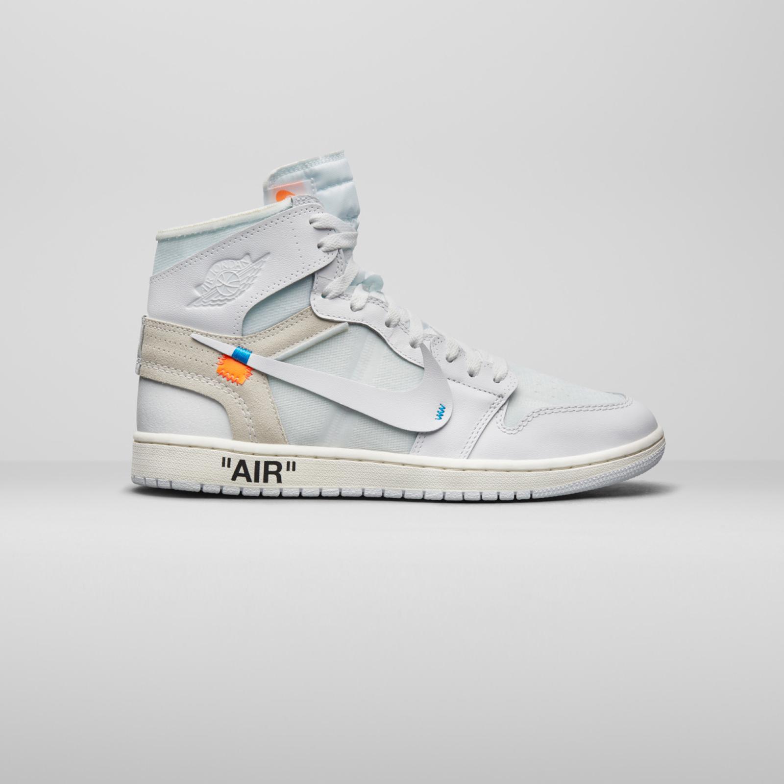 247ee8395e7833 Jordan Brand Air Jordan 1 x OFF-WHITE NRG (GS) - Aq8296-100 ...