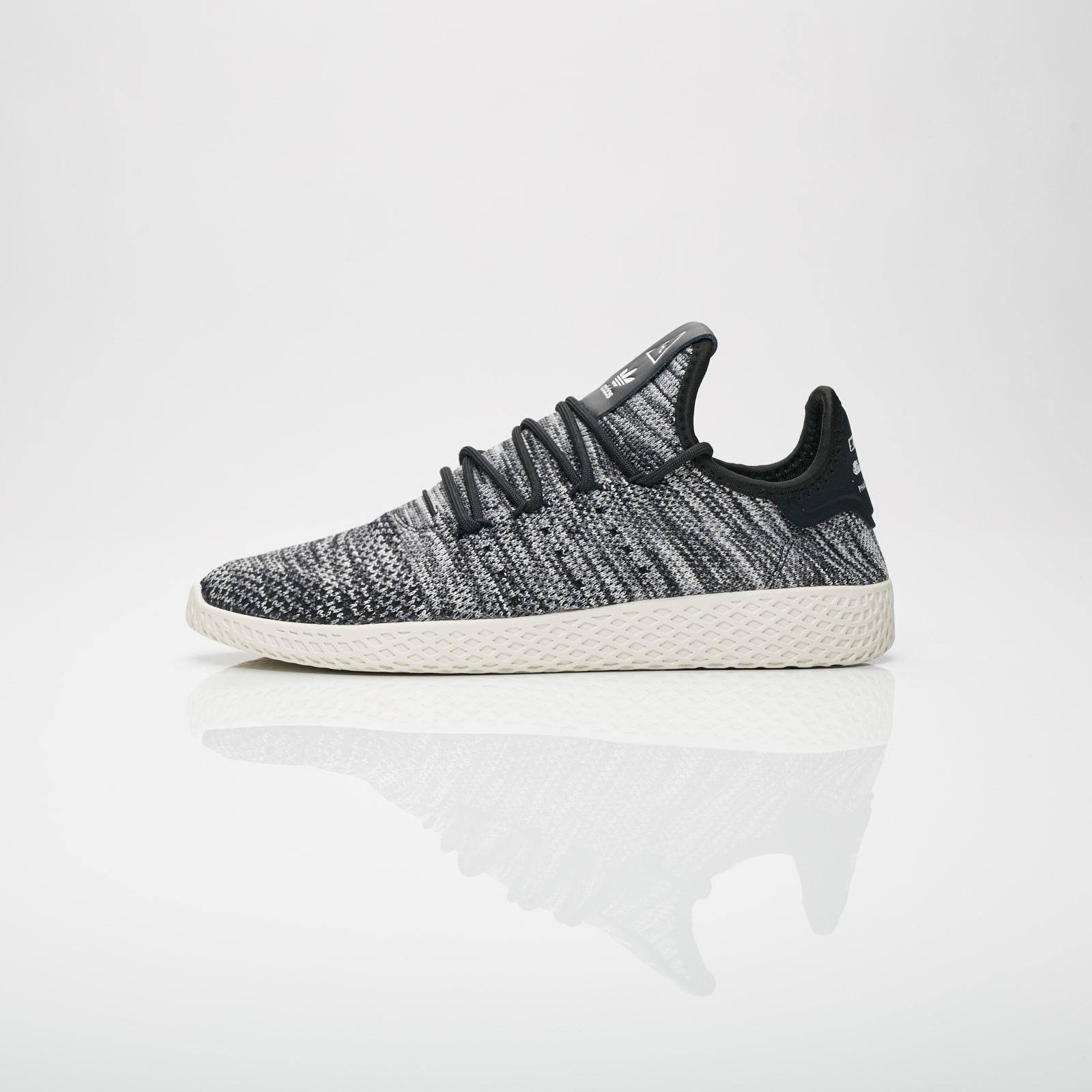 adidas Originals PW Tennis hu PK, Chalk White-Core Black-Footwear White, 4,5