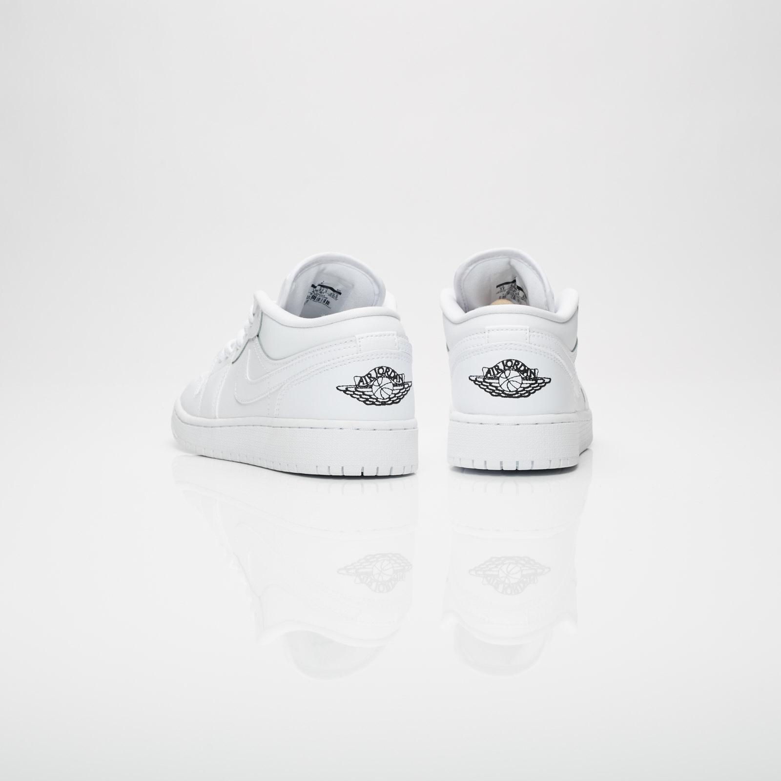 de5becf3306f07 Jordan Brand Air Jordan 1 Low (GS) - 553560-101 - Sneakersnstuff ...