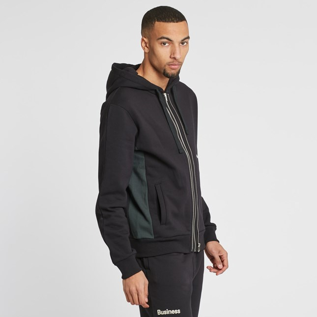 Champion x wood wood Hooded Full Zip Sweatshirt